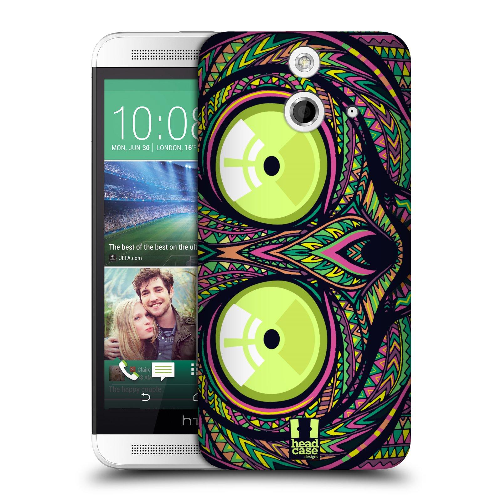 Plastové pouzdro na mobil HTC ONE E8 HEAD CASE AZTEC NÁRTOUN (Kryt či obal na mobilní telefon HTC ONE E8)