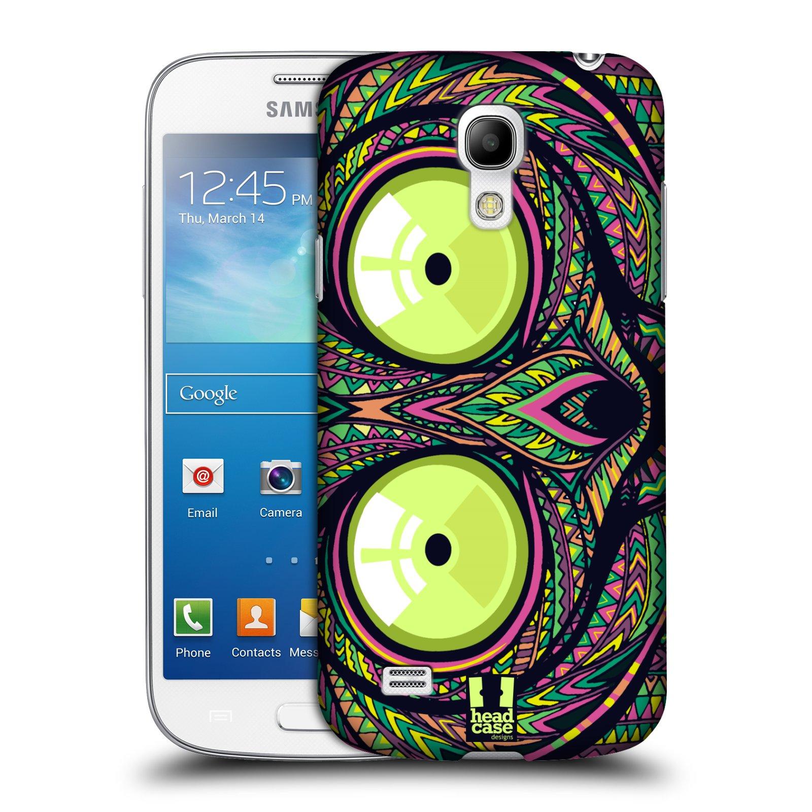Plastové pouzdro na mobil Samsung Galaxy S4 Mini HEAD CASE AZTEC NÁRTOUN