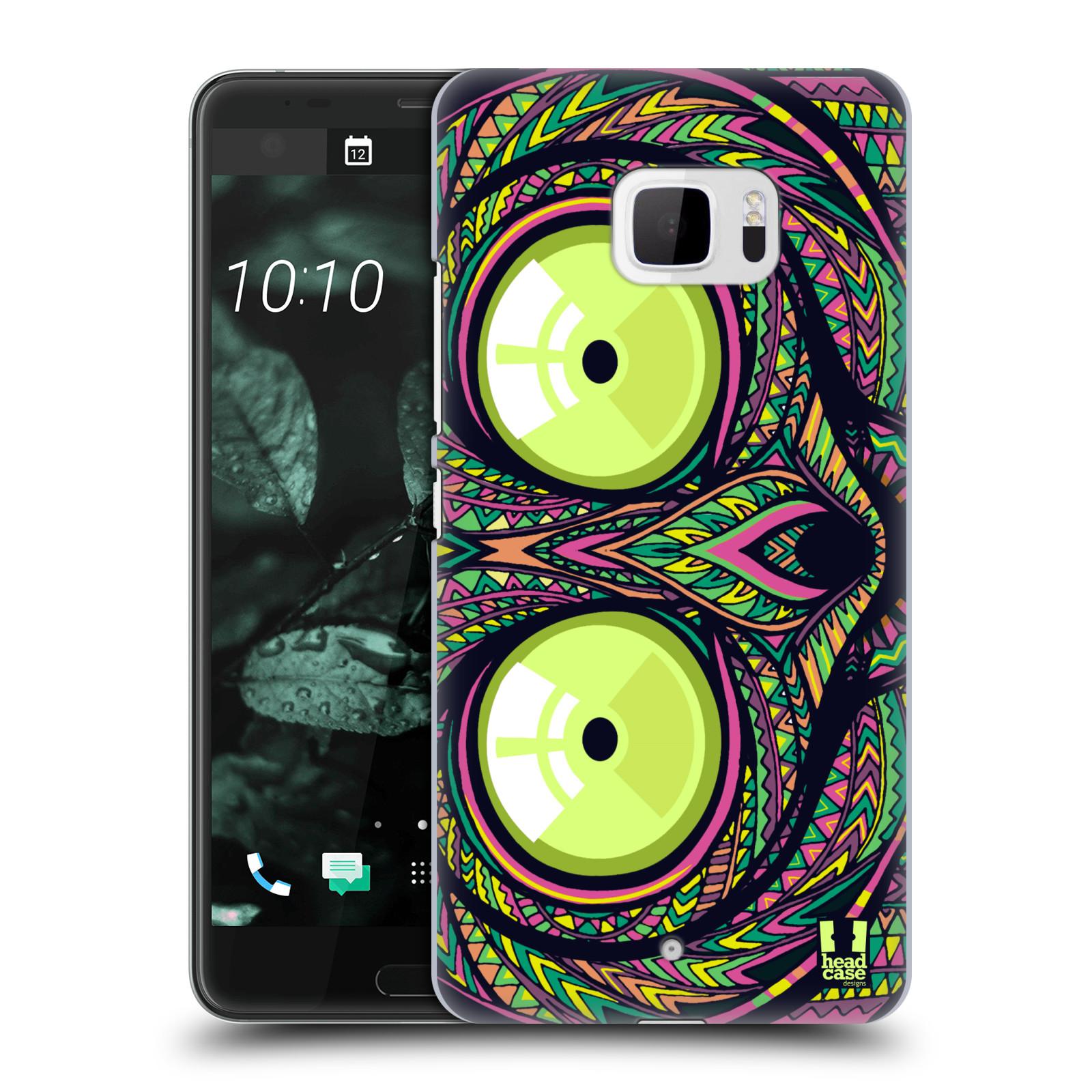 Plastové pouzdro na mobil HTC U Ultra Head Case - AZTEC NÁRTOUN (Plastový kryt či obal na mobilní telefon HTC U Ultra (99HALT015-00))