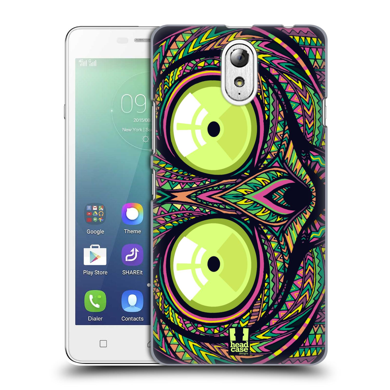 Plastové pouzdro na mobil Lenovo Vibe P1m HEAD CASE AZTEC NÁRTOUN