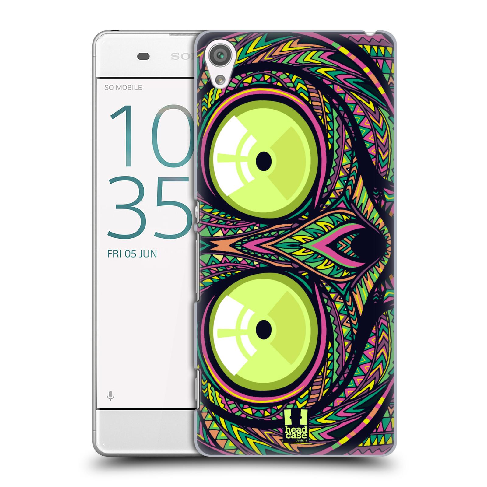 Plastové pouzdro na mobil Sony Xperia XA HEAD CASE AZTEC NÁRTOUN