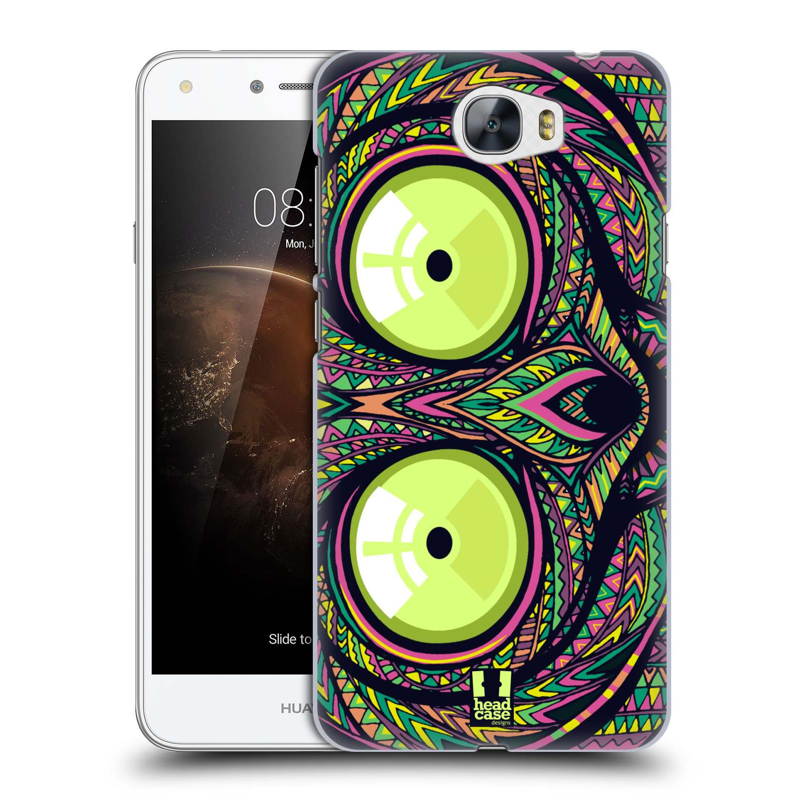 Plastové pouzdro na mobil Huawei Y5 II HEAD CASE AZTEC NÁRTOUN
