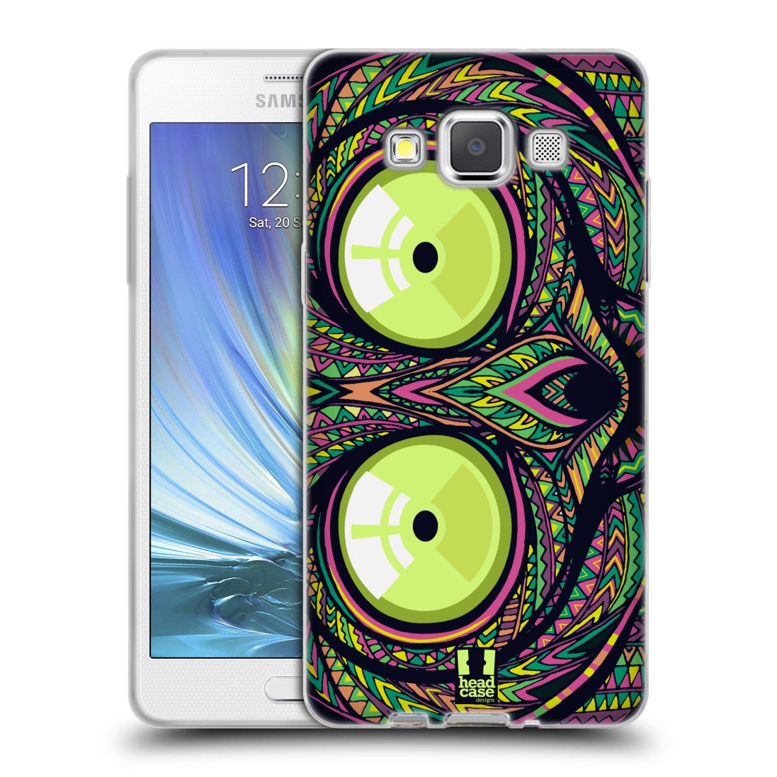 Silikonové pouzdro na mobil Samsung Galaxy A5 HEAD CASE AZTEC NÁRTOUN