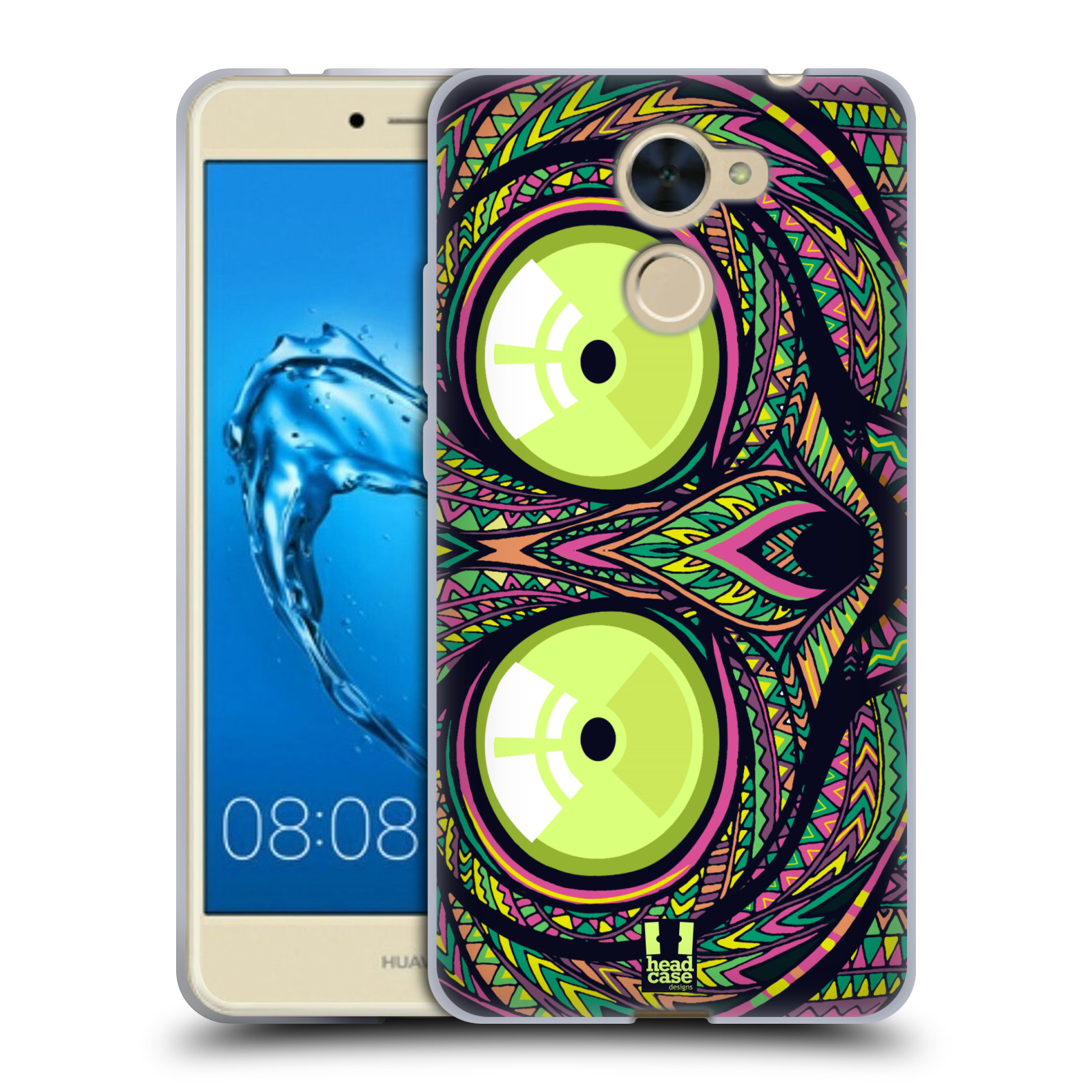 Silikonové pouzdro na mobil Huawei Y7 - Head Case - AZTEC NÁRTOUN