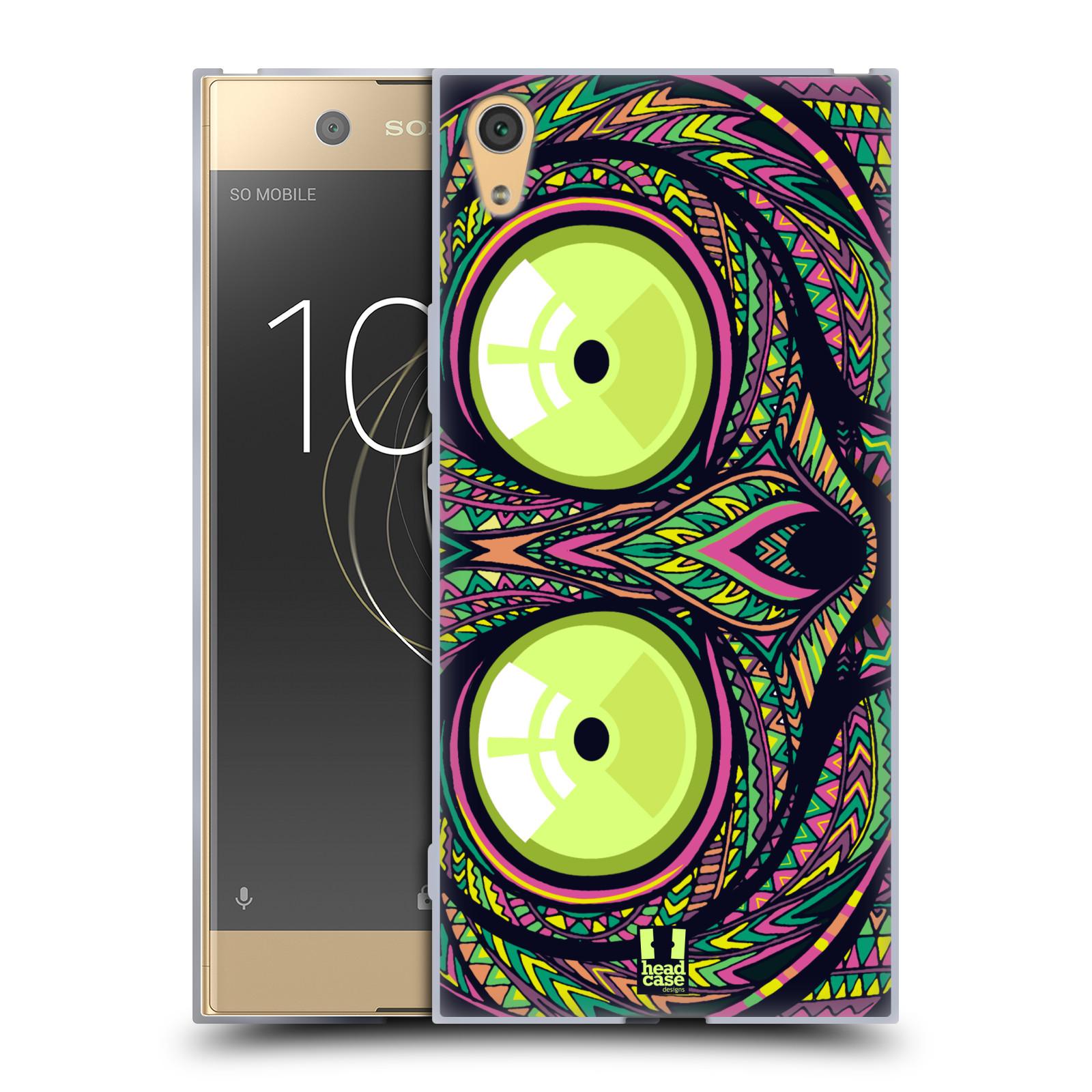 Silikonové pouzdro na mobil Sony Xperia XA1 Ultra - Head Case - AZTEC NÁRTOUN