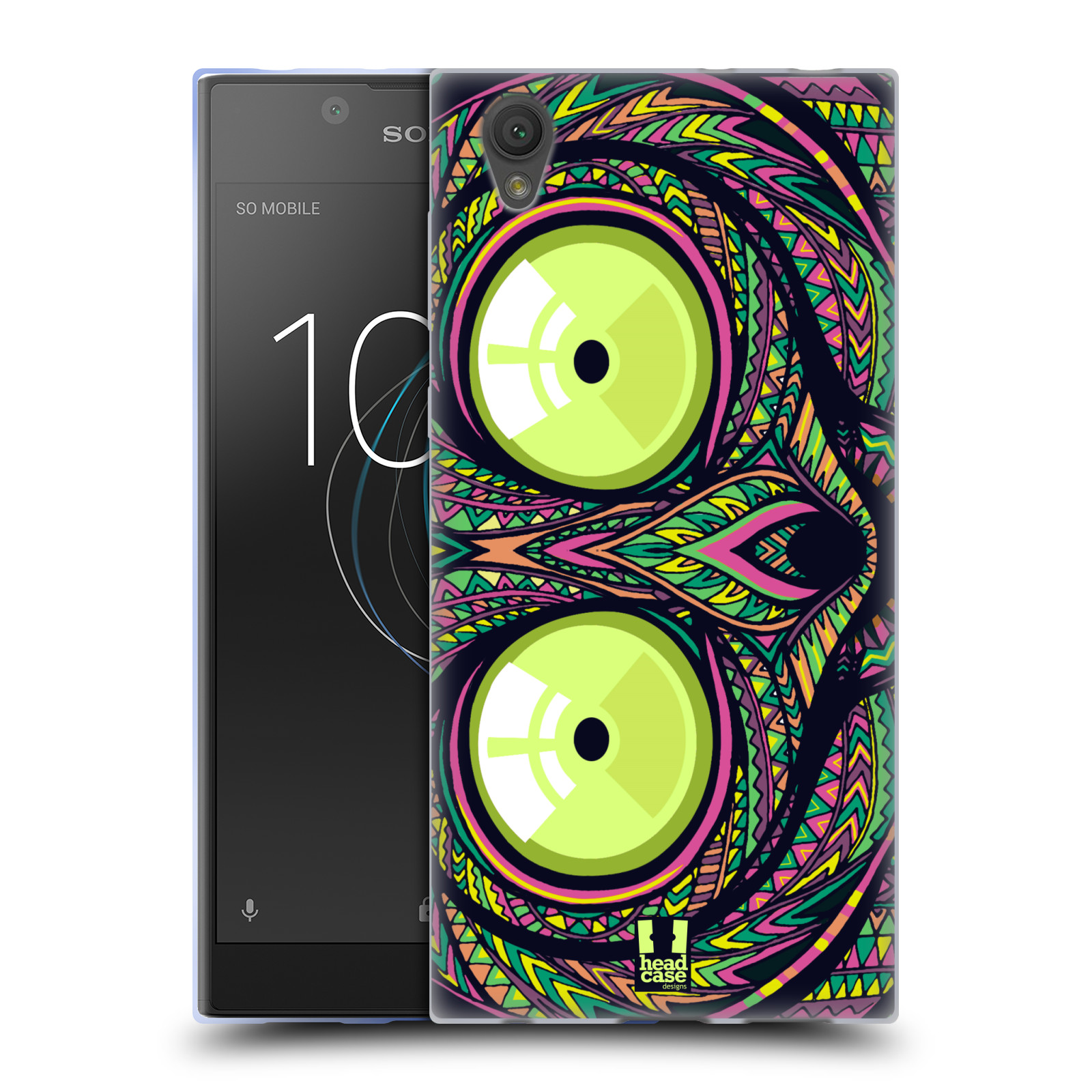 Silikonové pouzdro na mobil Sony Xperia L1 - Head Case - AZTEC NÁRTOUN