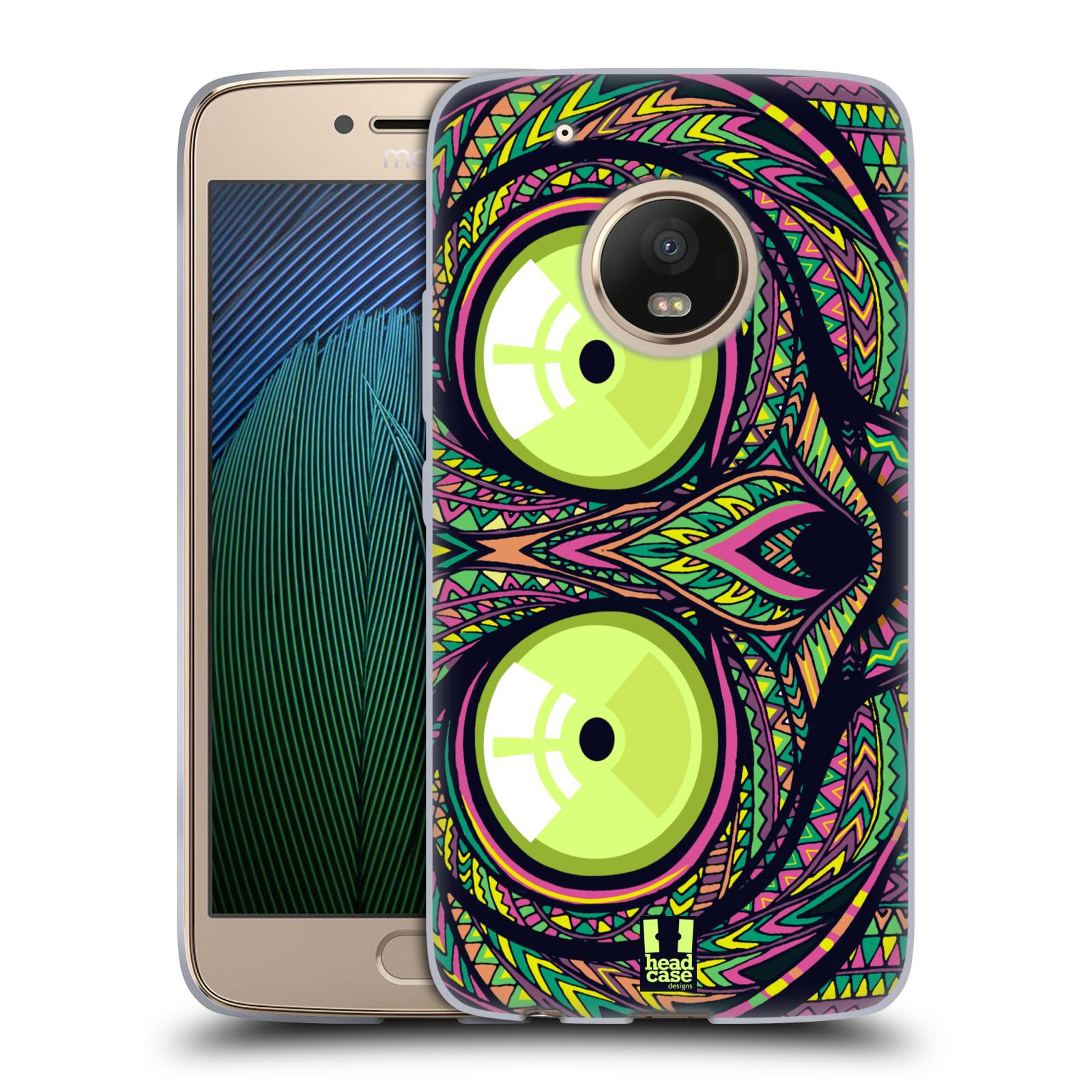 Silikonové pouzdro na mobil Lenovo Moto G5 Plus - Head Case AZTEC NÁRTOUN