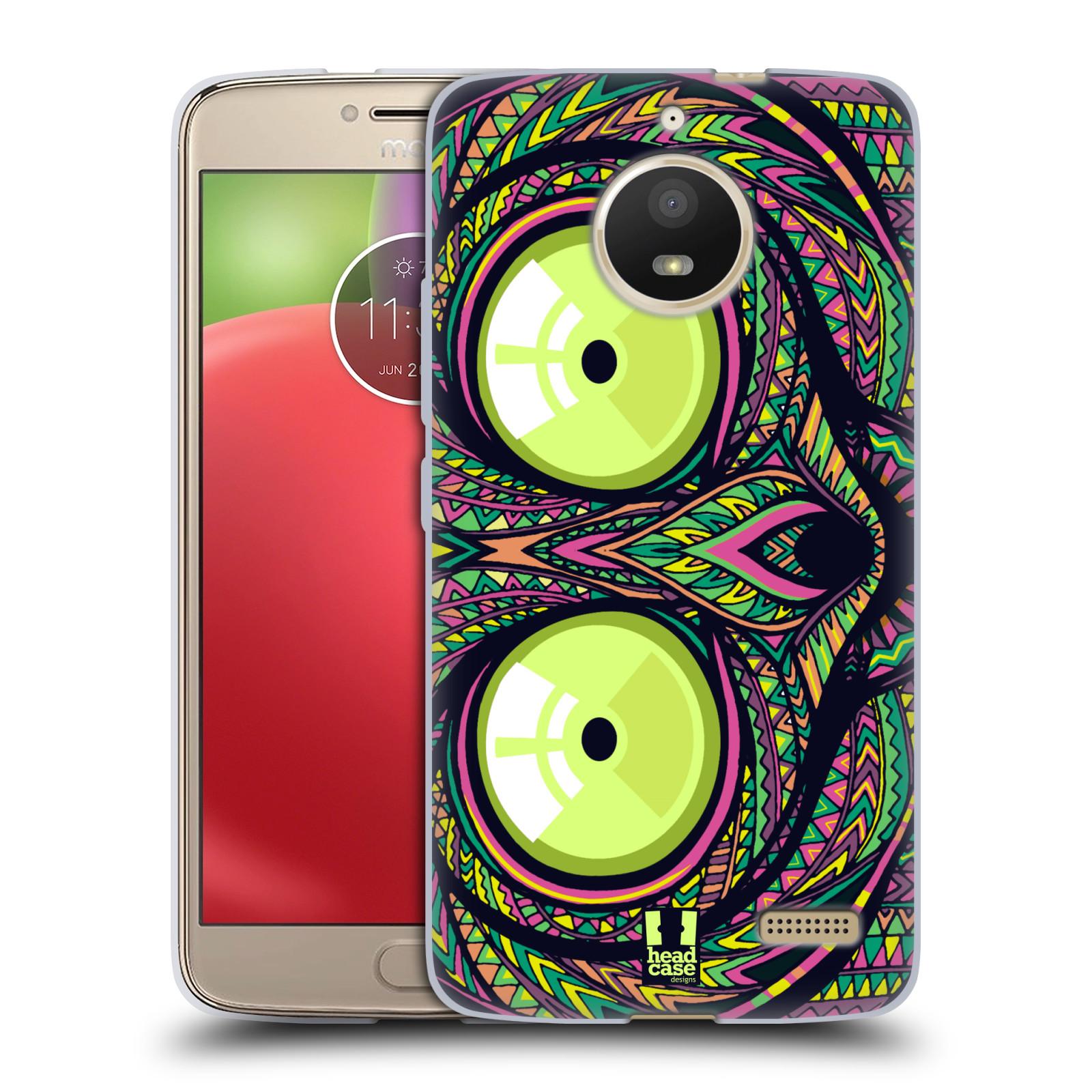 Silikonové pouzdro na mobil Lenovo Moto E4 - Head Case - AZTEC NÁRTOUN