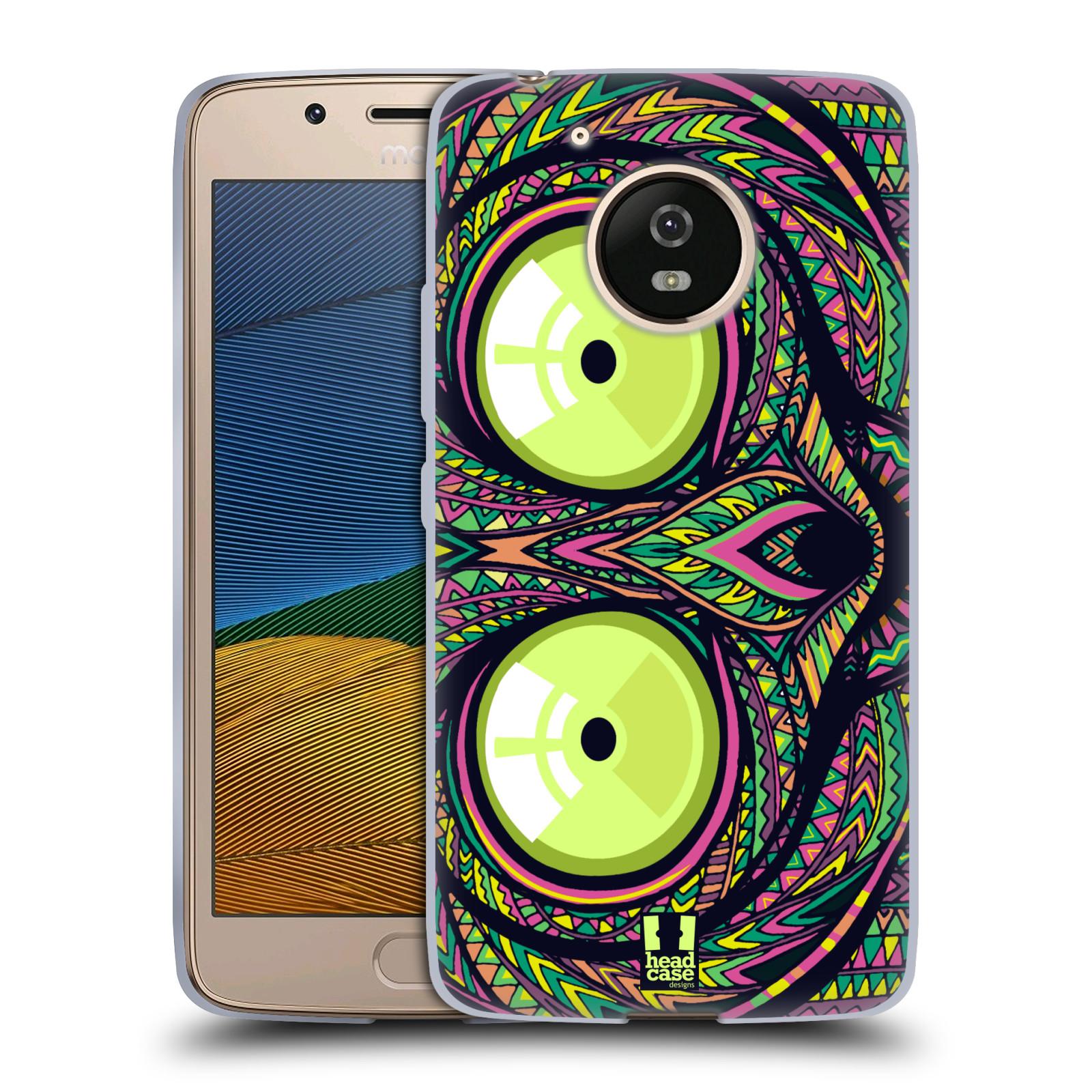 Silikonové pouzdro na mobil Lenovo Moto G5 - Head Case AZTEC NÁRTOUN