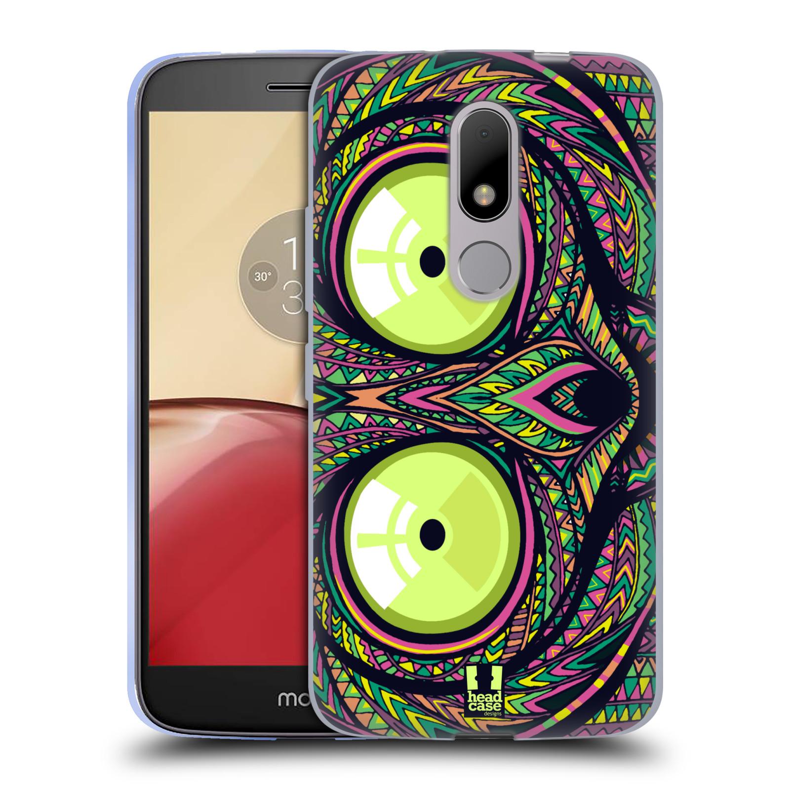 Silikonové pouzdro na mobil Lenovo Moto M - Head Case AZTEC NÁRTOUN