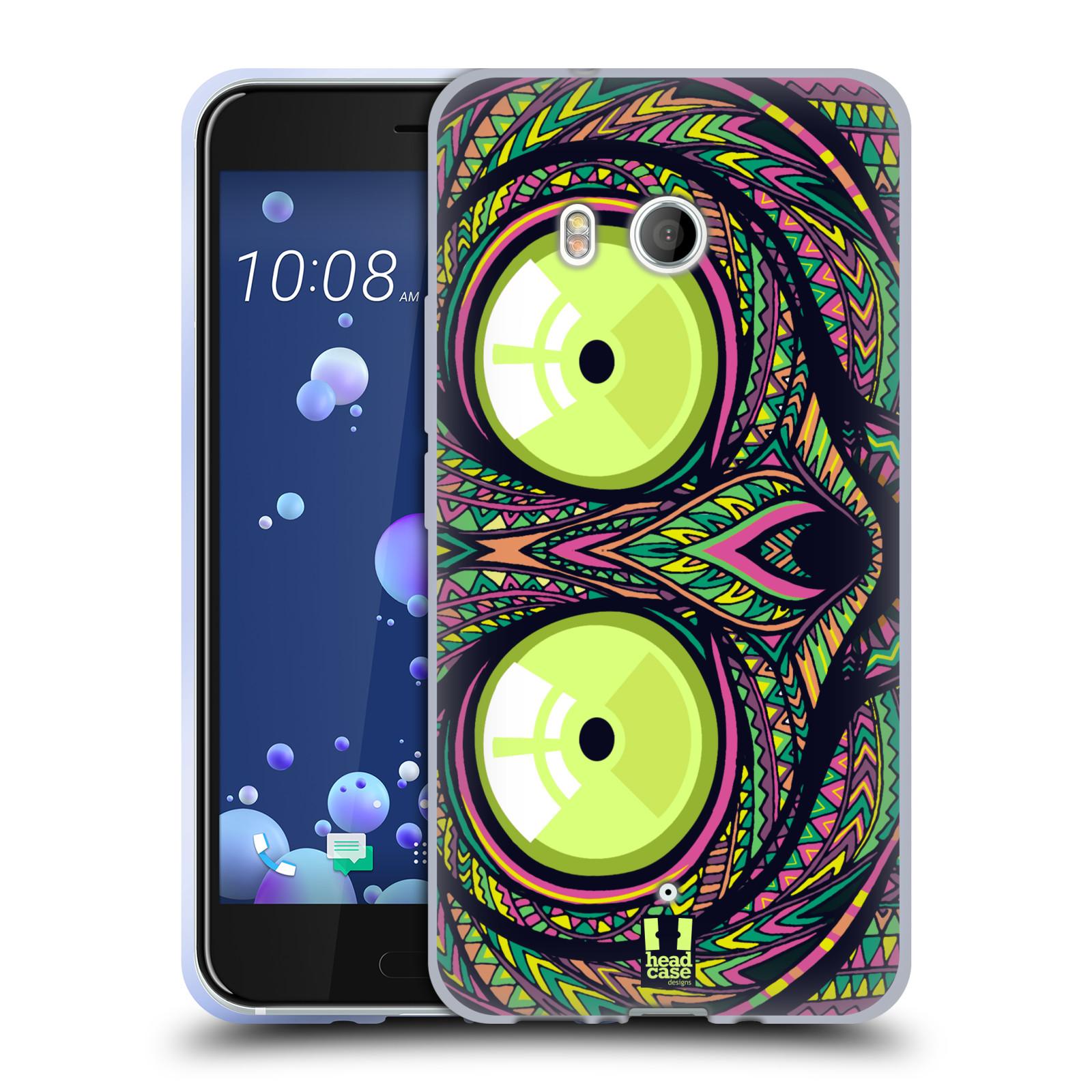 Silikonové pouzdro na mobil HTC U11 - Head Case - AZTEC NÁRTOUN