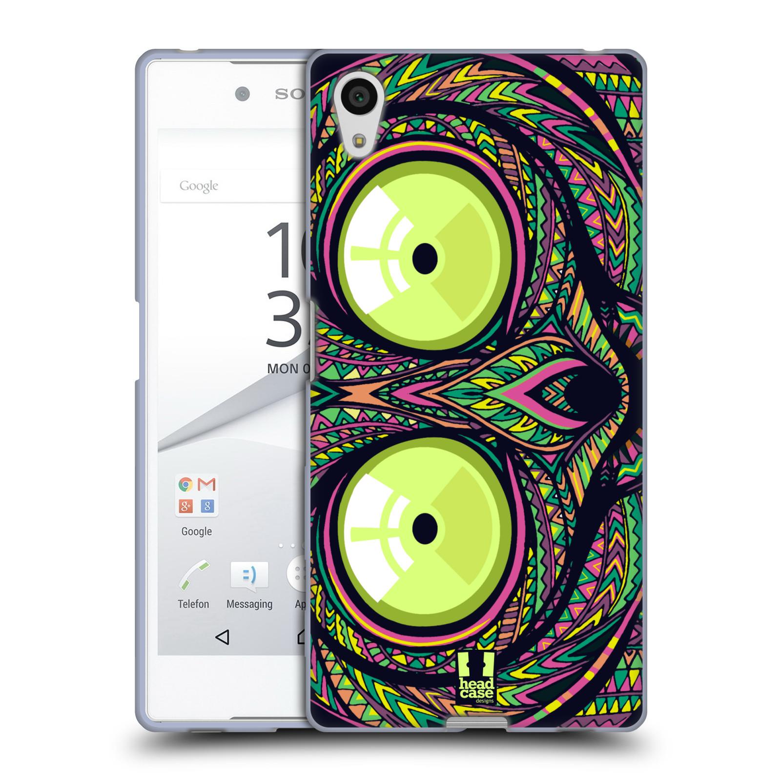 Silikonové pouzdro na mobil Sony Xperia Z5 HEAD CASE AZTEC NÁRTOUN