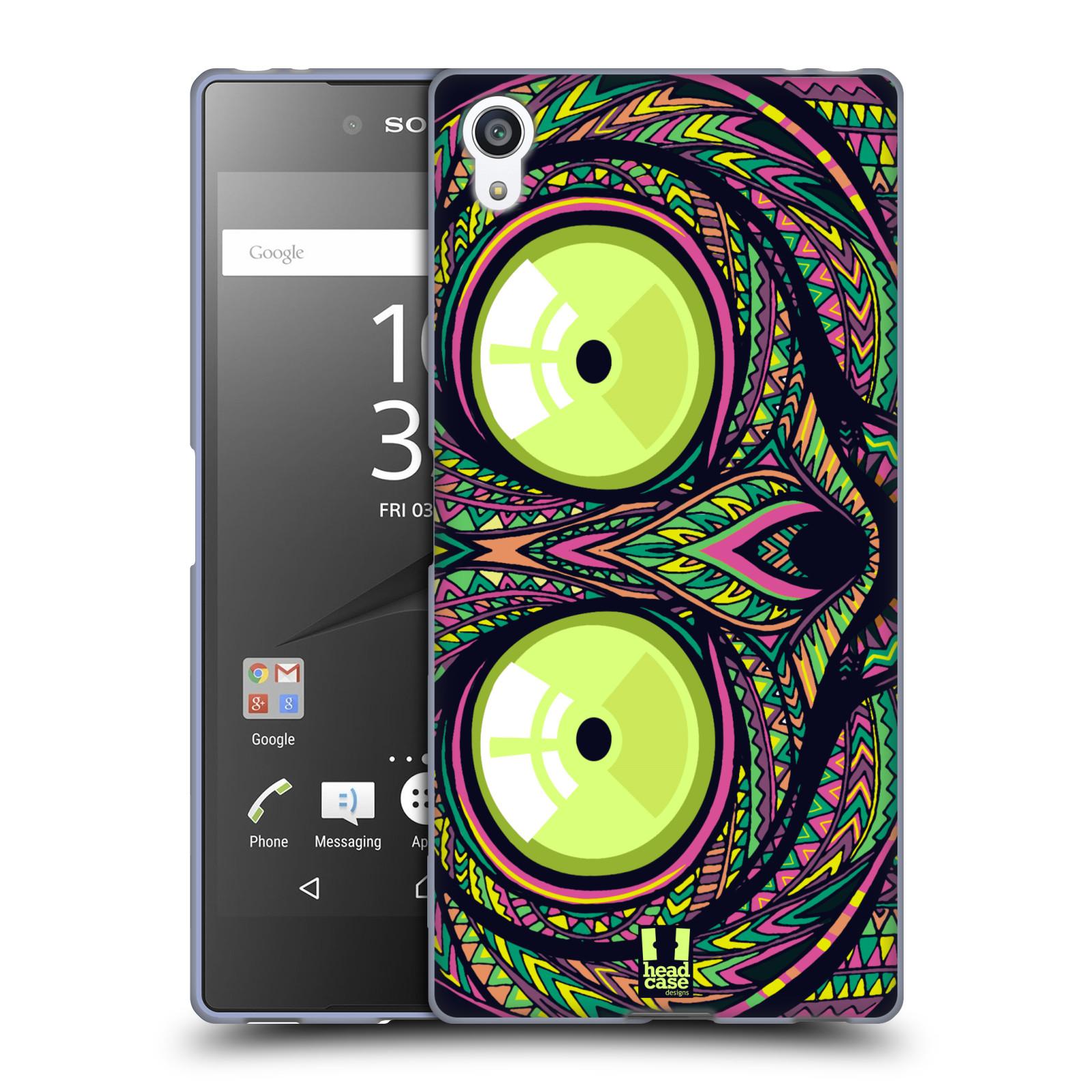 Silikonové pouzdro na mobil Sony Xperia Z5 Premium HEAD CASE AZTEC NÁRTOUN