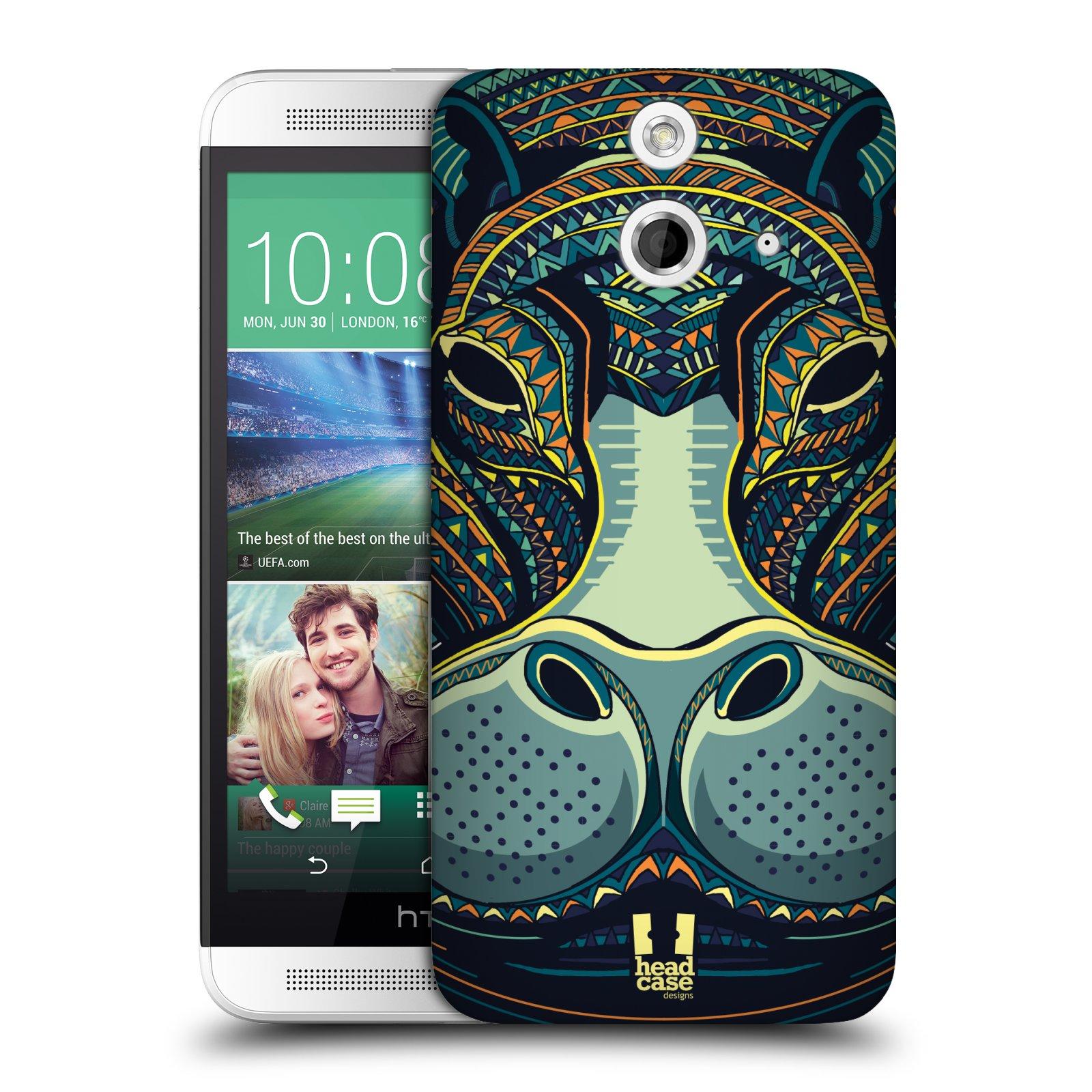 Plastové pouzdro na mobil HTC ONE E8 HEAD CASE AZTEC HROCH (Kryt či obal na mobilní telefon HTC ONE E8)