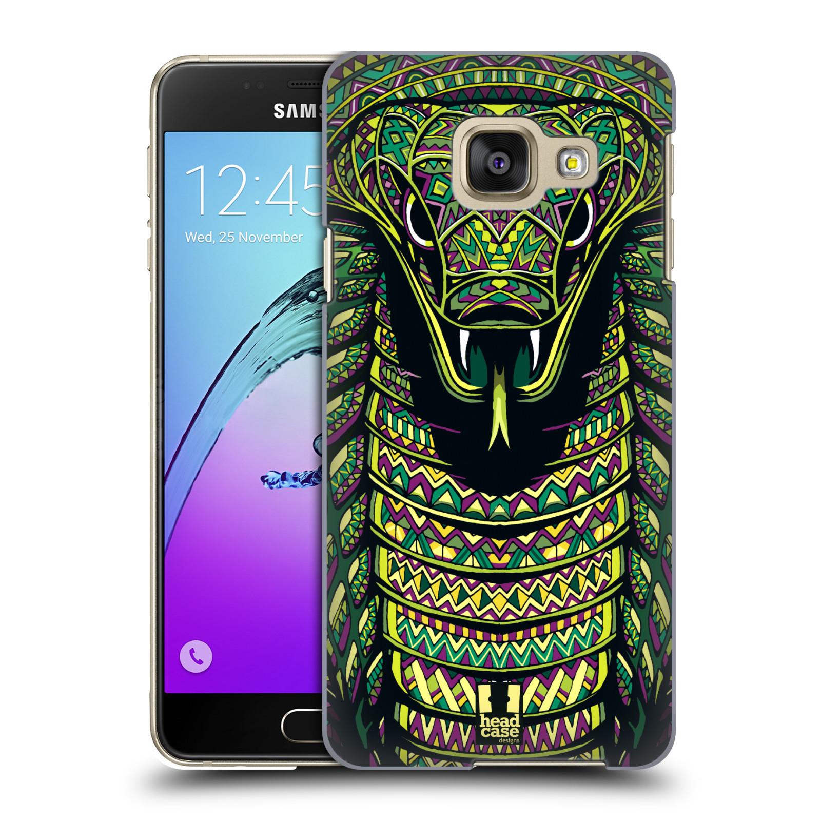 Plastové pouzdro na mobil Samsung Galaxy A3 (2016) HEAD CASE AZTEC HAD