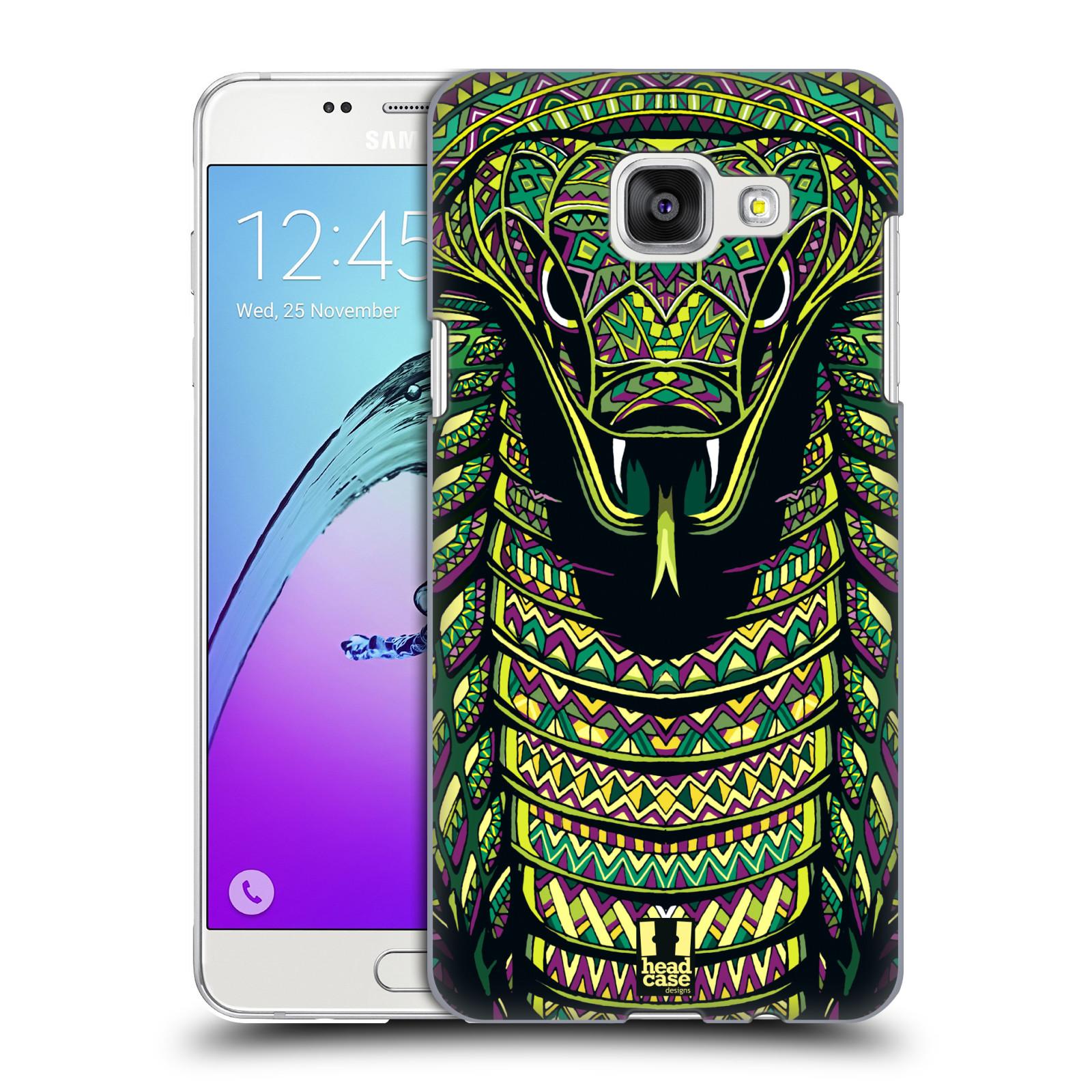 Plastové pouzdro na mobil Samsung Galaxy A5 (2016) HEAD CASE AZTEC HAD