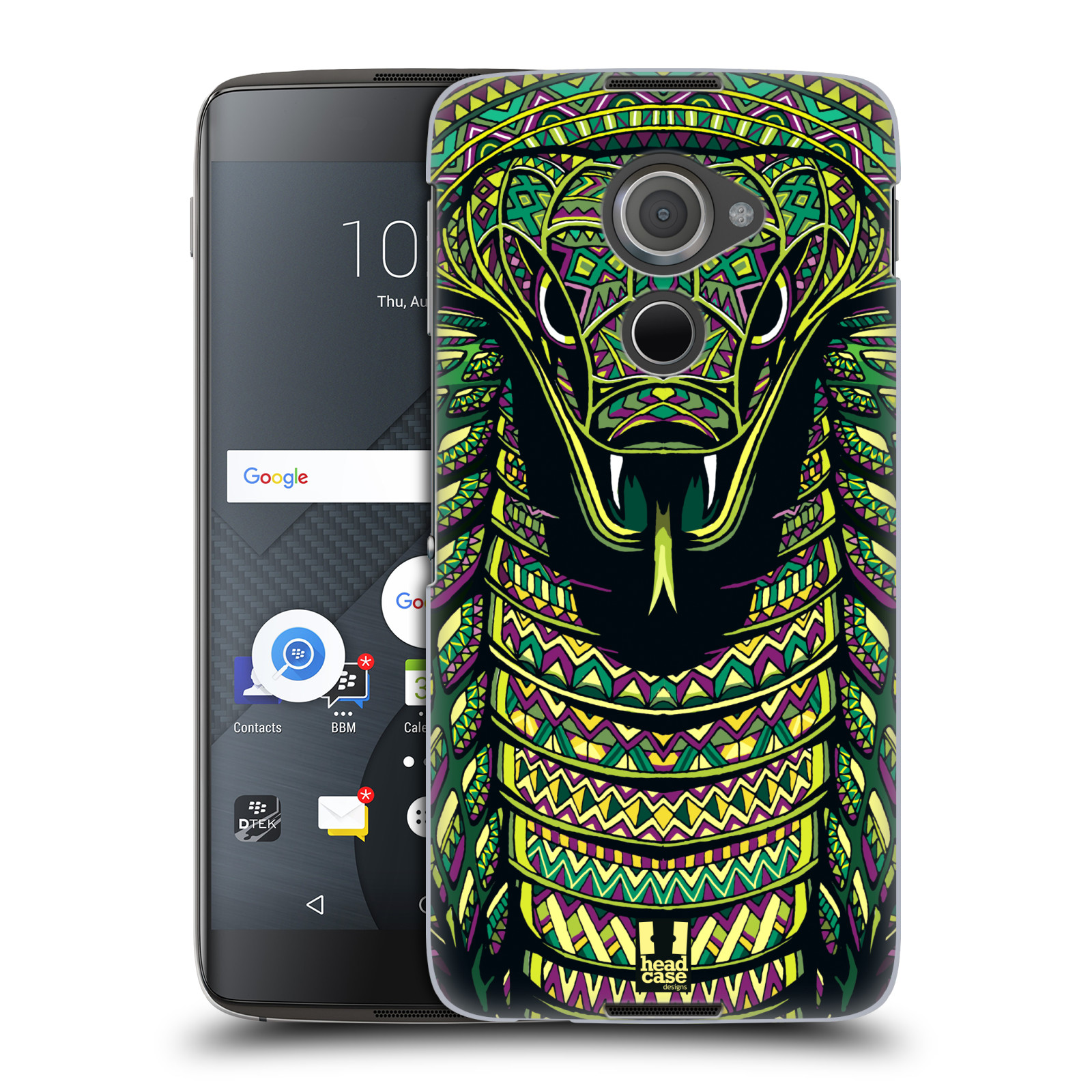 Plastové pouzdro na mobil Blackberry DTEK60 (Argon) - Head Case AZTEC HAD