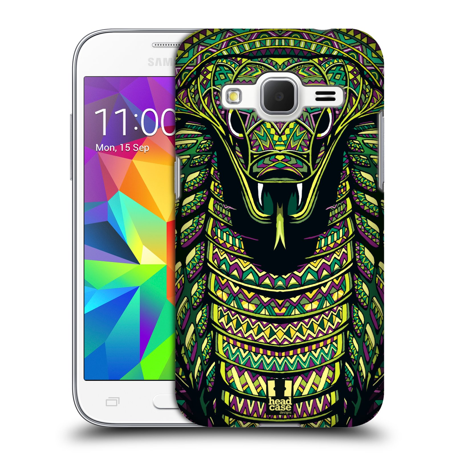 Plastové pouzdro na mobil Samsung Galaxy Core Prime LTE HEAD CASE AZTEC HAD