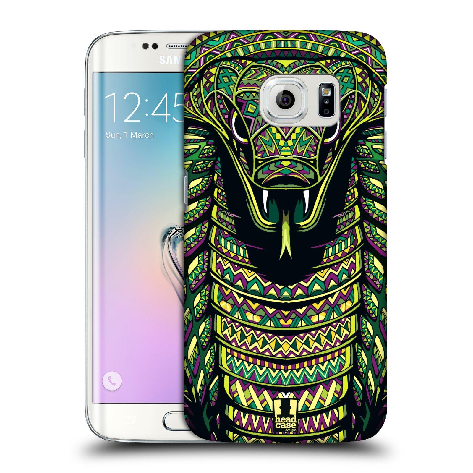Plastové pouzdro na mobil Samsung Galaxy S6 Edge HEAD CASE AZTEC HAD