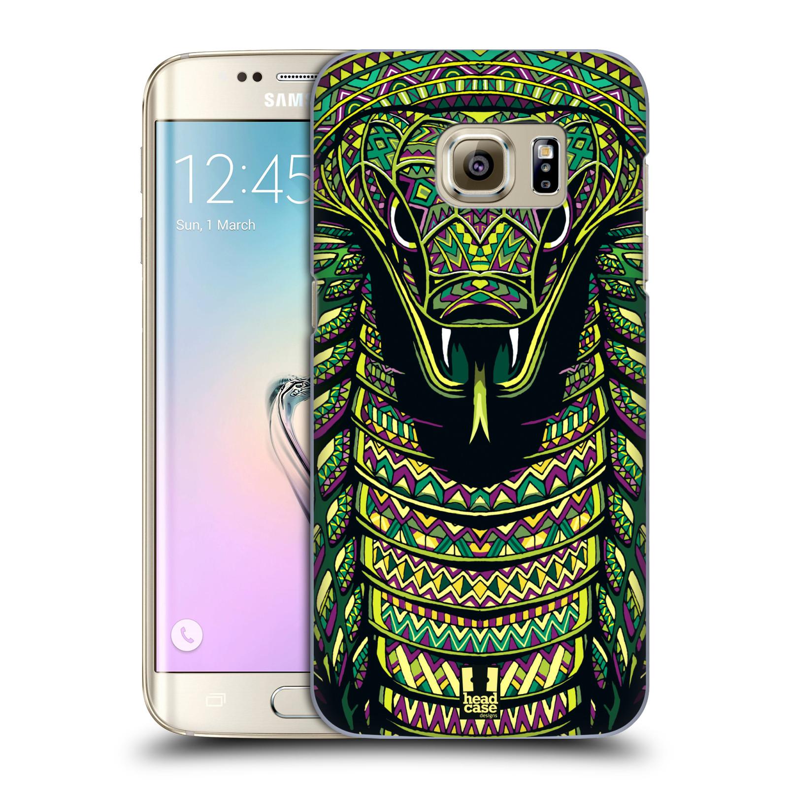 Plastové pouzdro na mobil Samsung Galaxy S7 Edge HEAD CASE AZTEC HAD