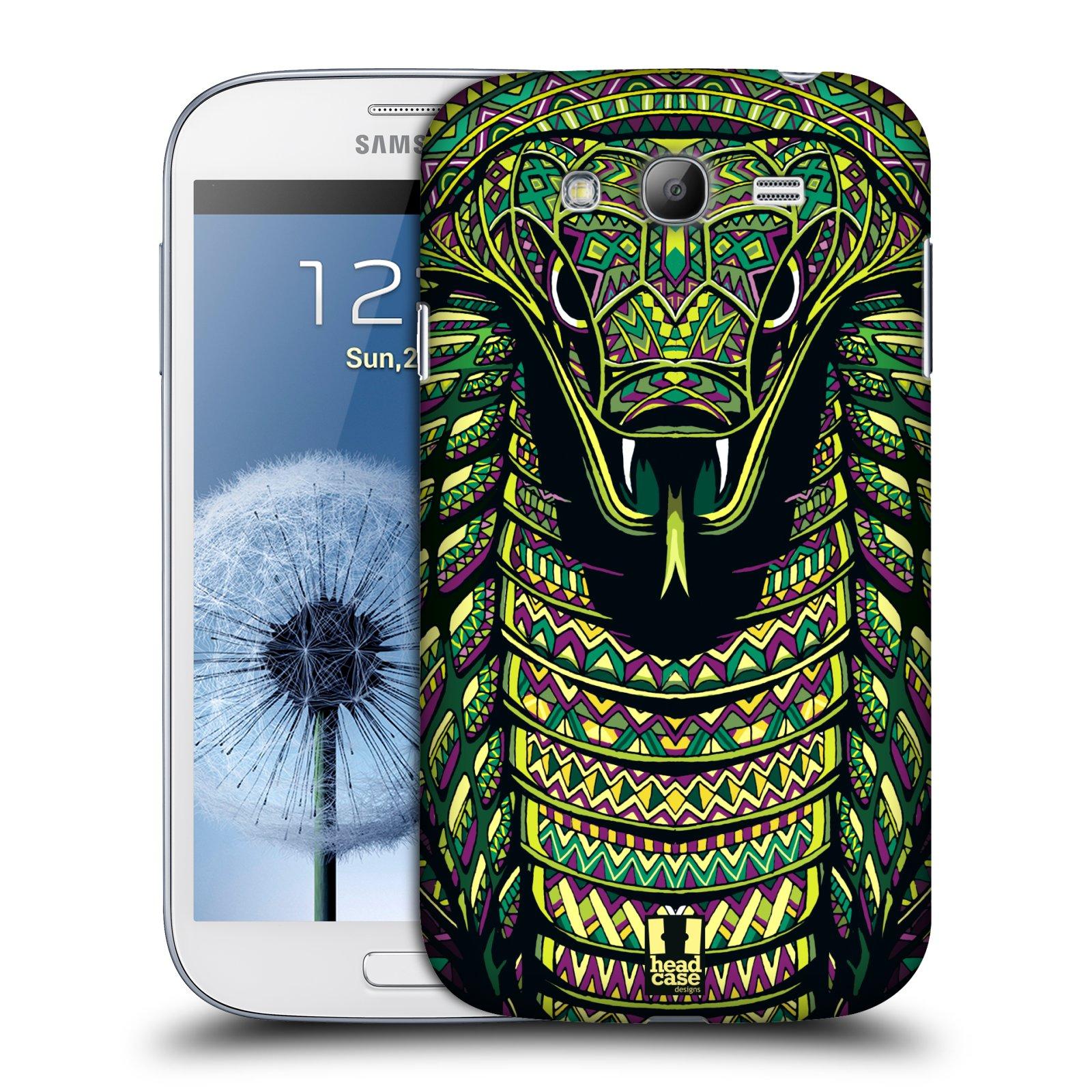 Plastové pouzdro na mobil Samsung Galaxy Grand Neo Plus HEAD CASE AZTEC HAD (Kryt či obal na mobilní telefon Samsung Galaxy Grand Neo Plus GT-i9060i)