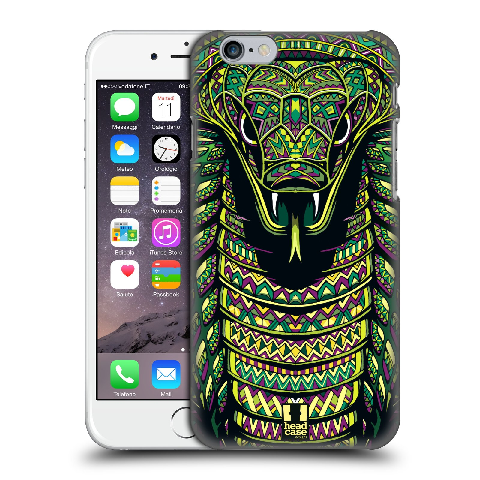 Plastové pouzdro na mobil Apple iPhone 6 a 6S HEAD CASE AZTEC HAD