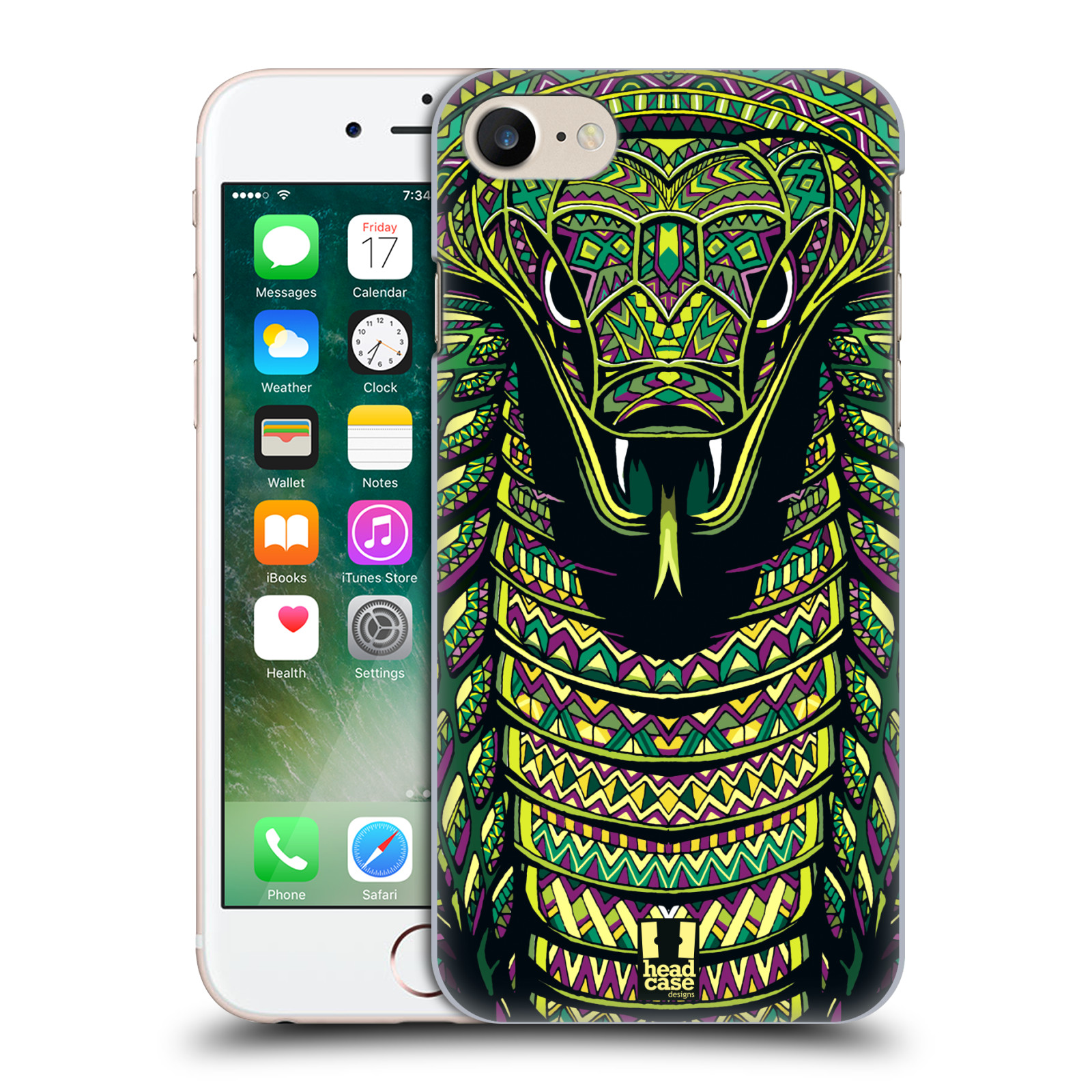 Plastové pouzdro na mobil Apple iPhone 7 HEAD CASE AZTEC HAD