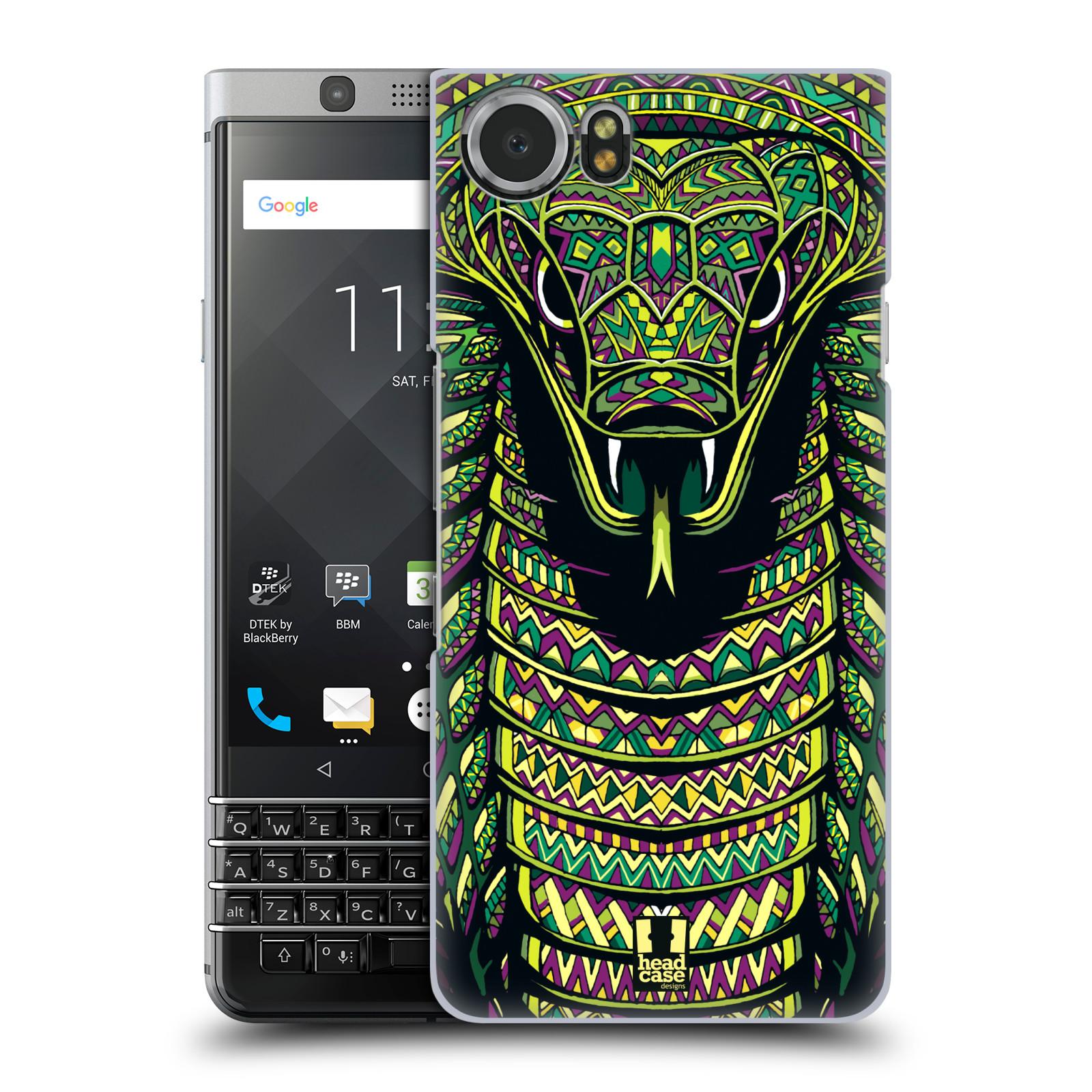 Plastové pouzdro na mobil BlackBerry KEYone - Head Case - AZTEC HAD
