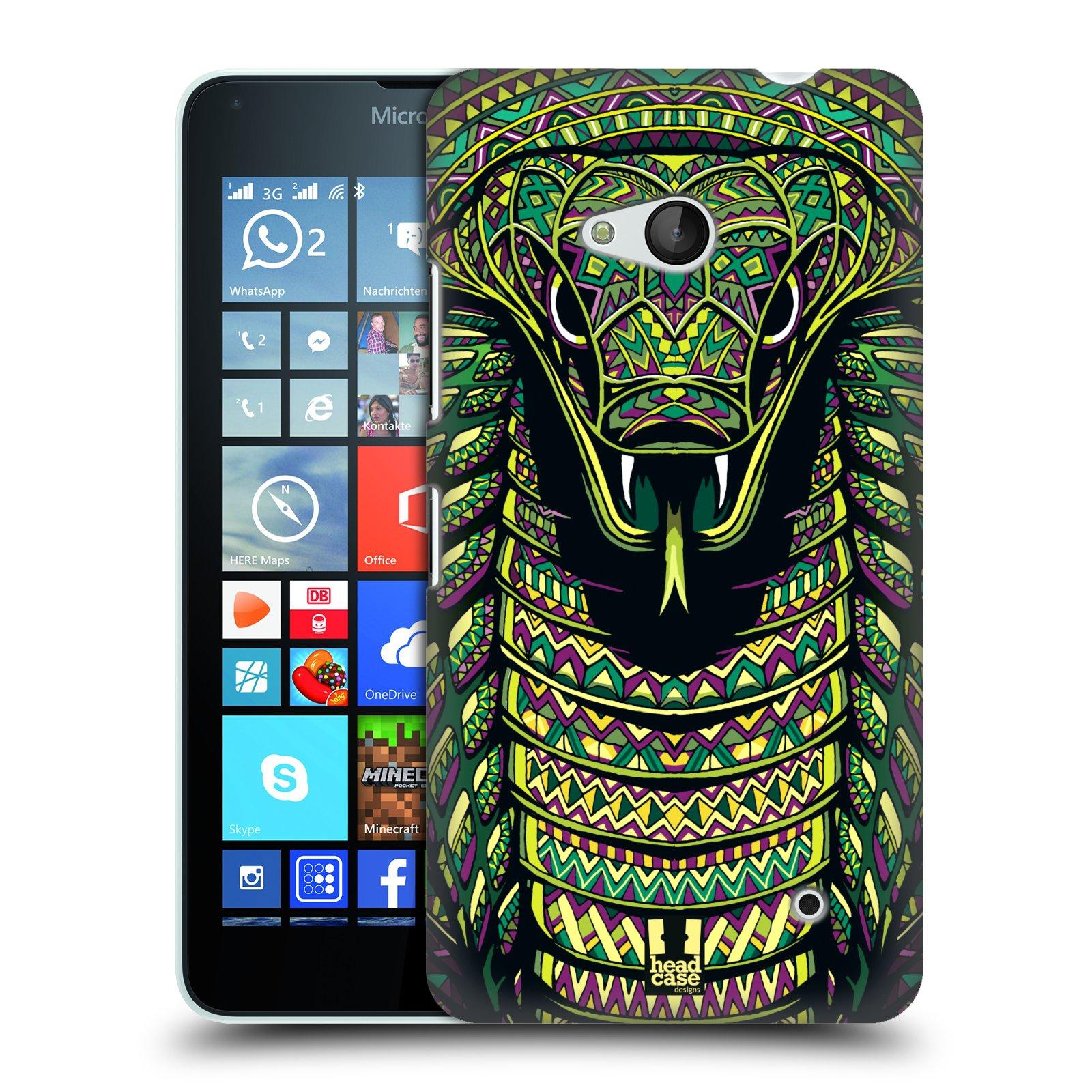 Plastové pouzdro na mobil Microsoft Lumia 640 HEAD CASE AZTEC HAD