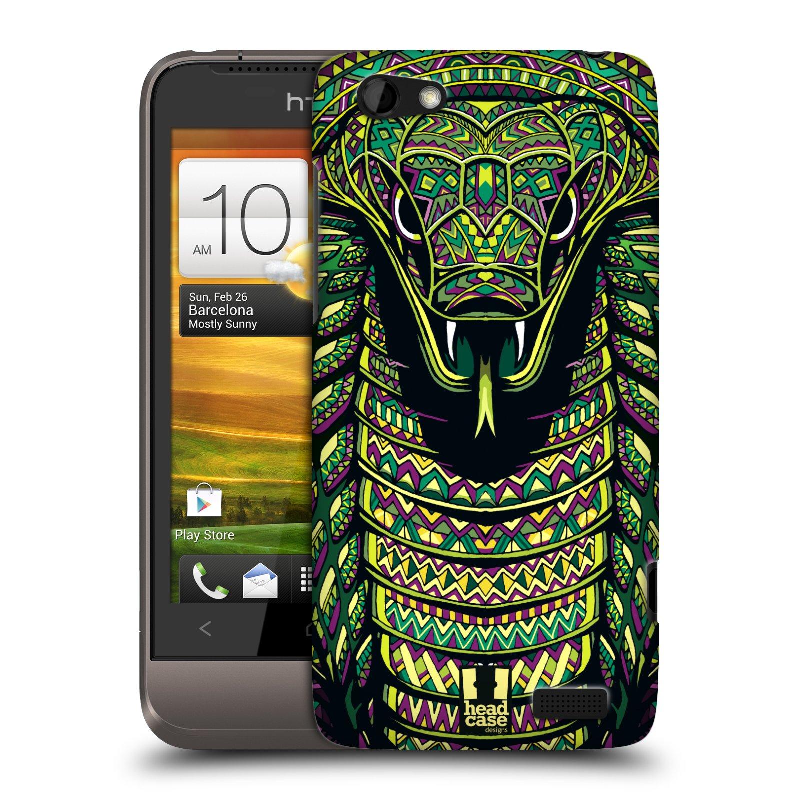 Plastové pouzdro na mobil HTC ONE V HEAD CASE AZTEC HAD (Kryt či obal na mobilní telefon HTC ONE V)