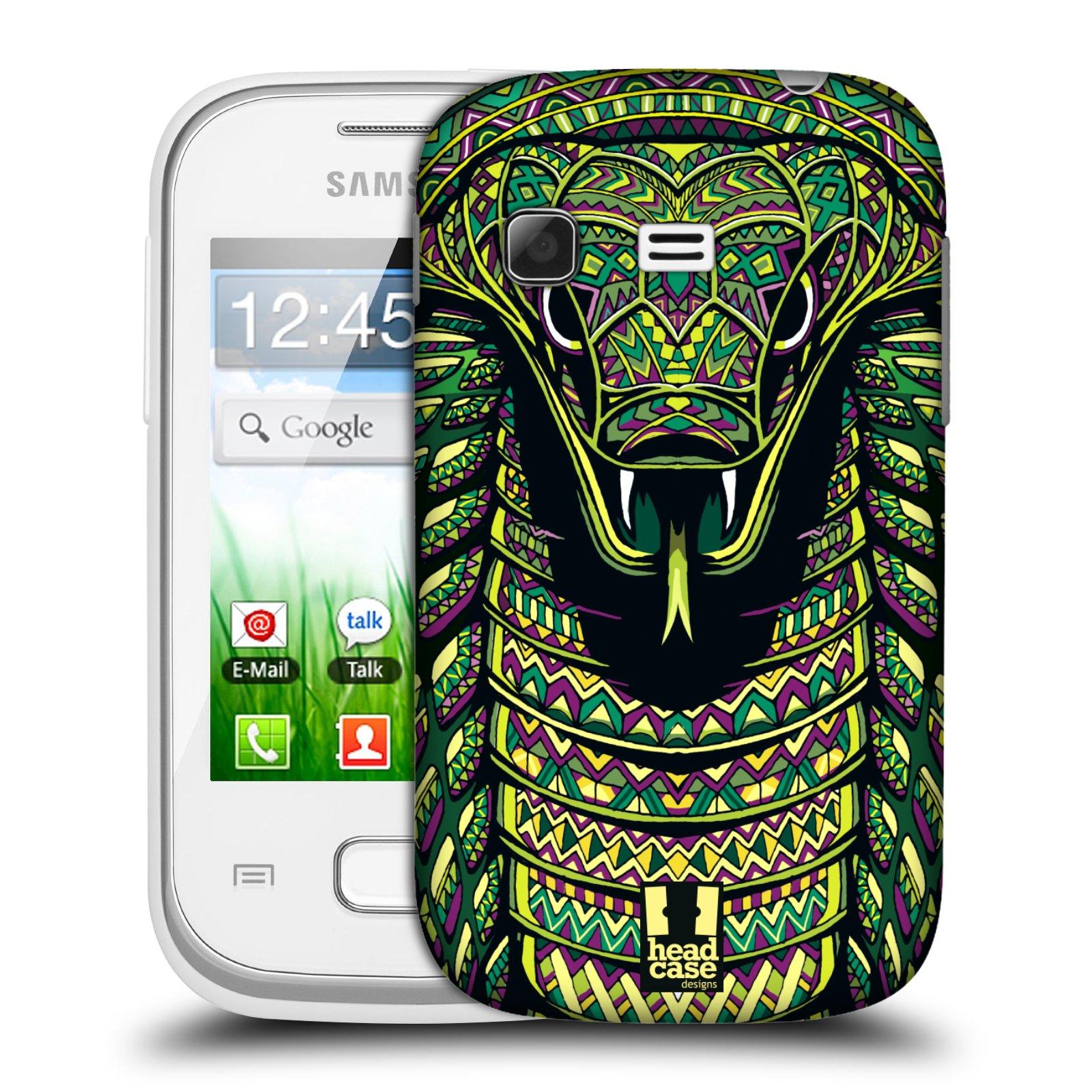 Plastové pouzdro na mobil Samsung Galaxy Pocket HEAD CASE AZTEC HAD (Kryt či obal na mobilní telefon Samsung Galaxy Pocket GT-S5300)