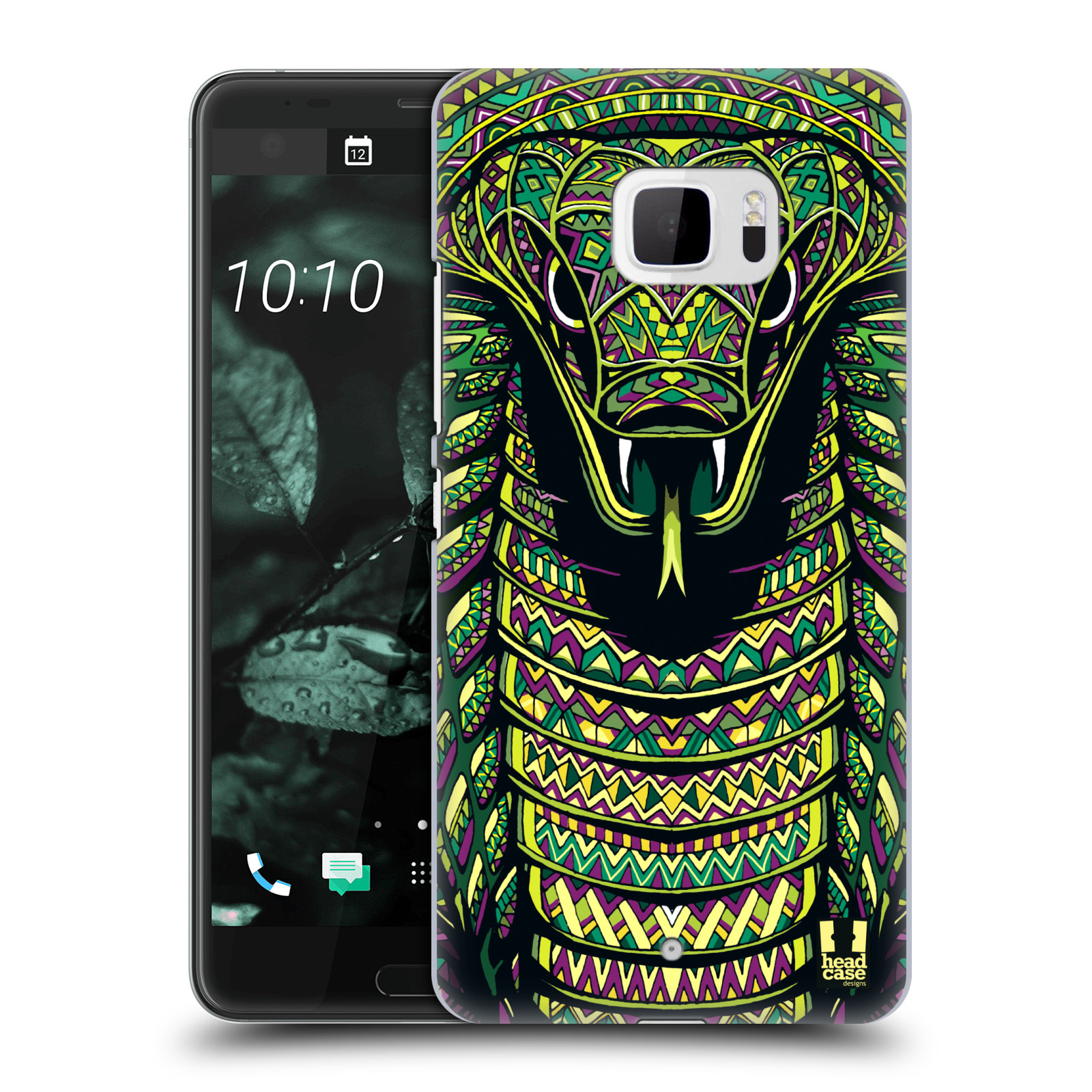 Plastové pouzdro na mobil HTC U Ultra Head Case - AZTEC HAD