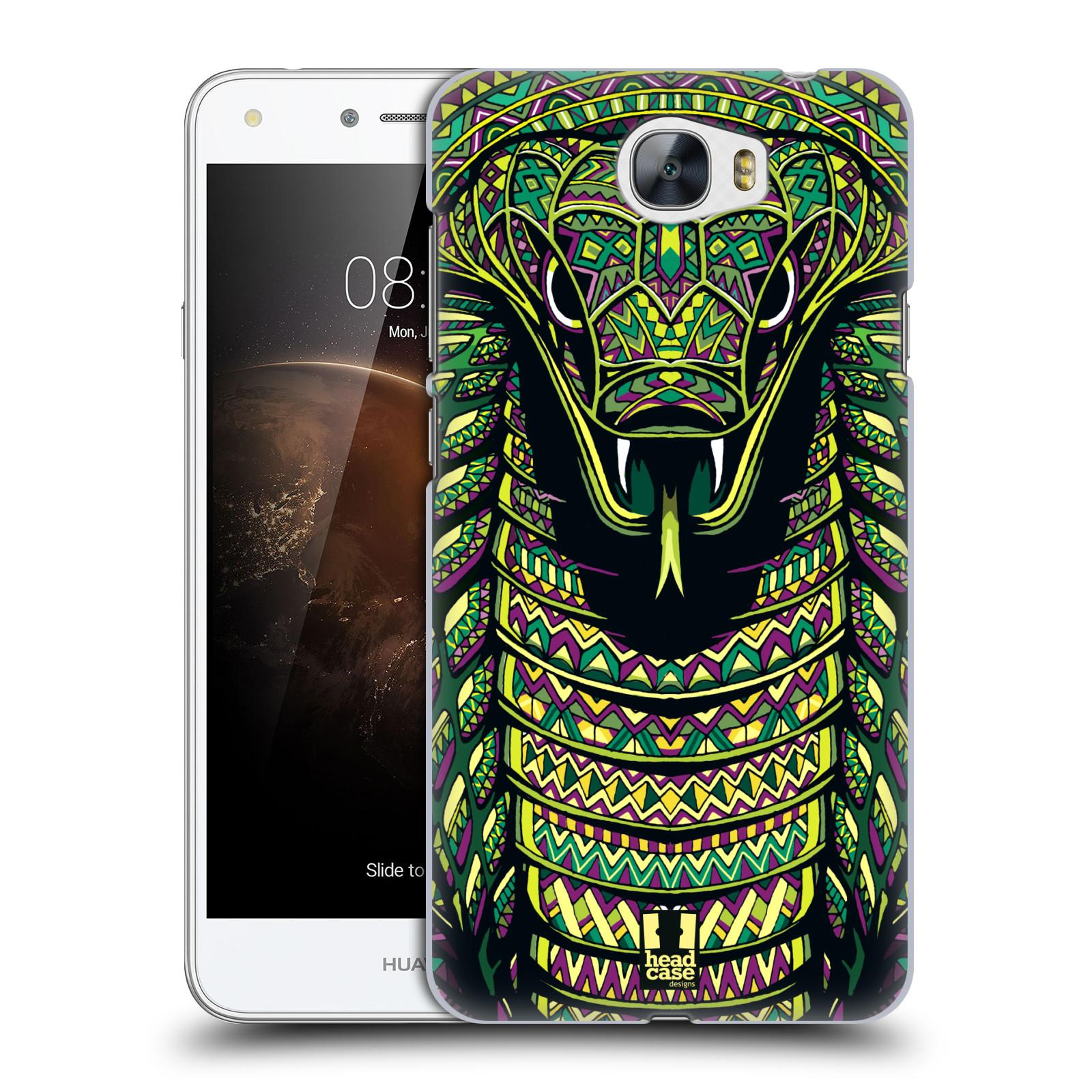 Plastové pouzdro na mobil Huawei Y5 II HEAD CASE AZTEC HAD