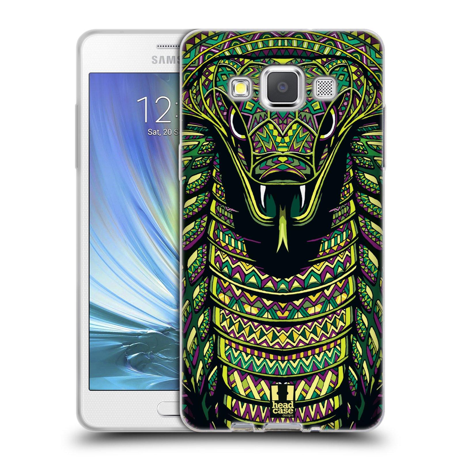 Silikonové pouzdro na mobil Samsung Galaxy A5 HEAD CASE AZTEC HAD