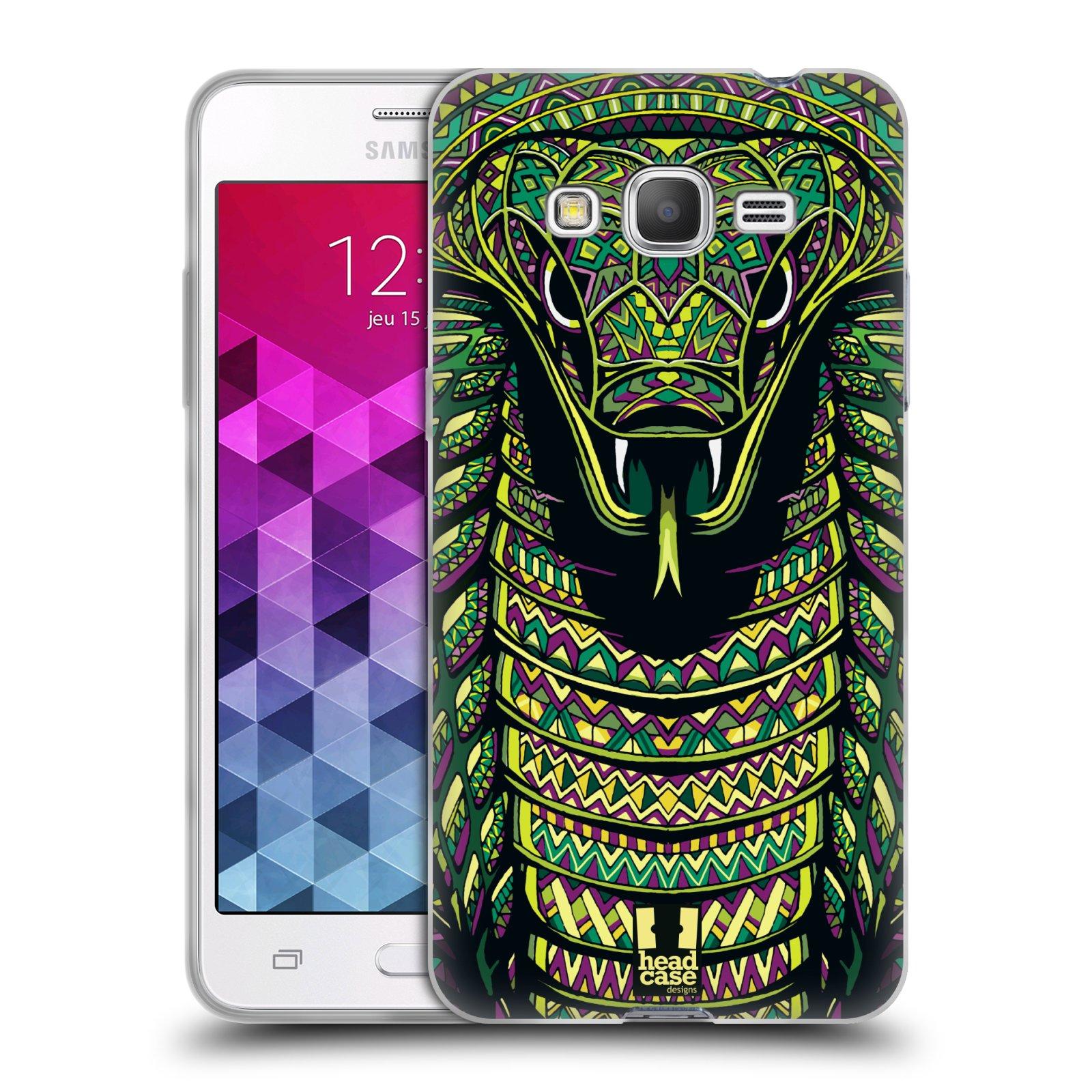 Silikonové pouzdro na mobil Samsung Galaxy Grand Prime HEAD CASE AZTEC HAD