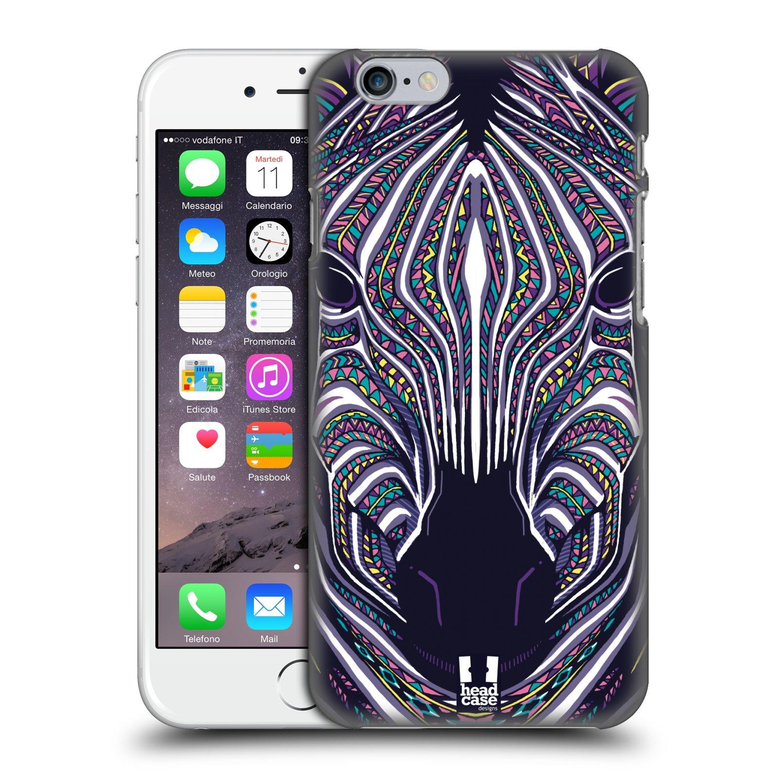 Plastové pouzdro na mobil Apple iPhone 6 a 6S HEAD CASE AZTEC ZEBRA