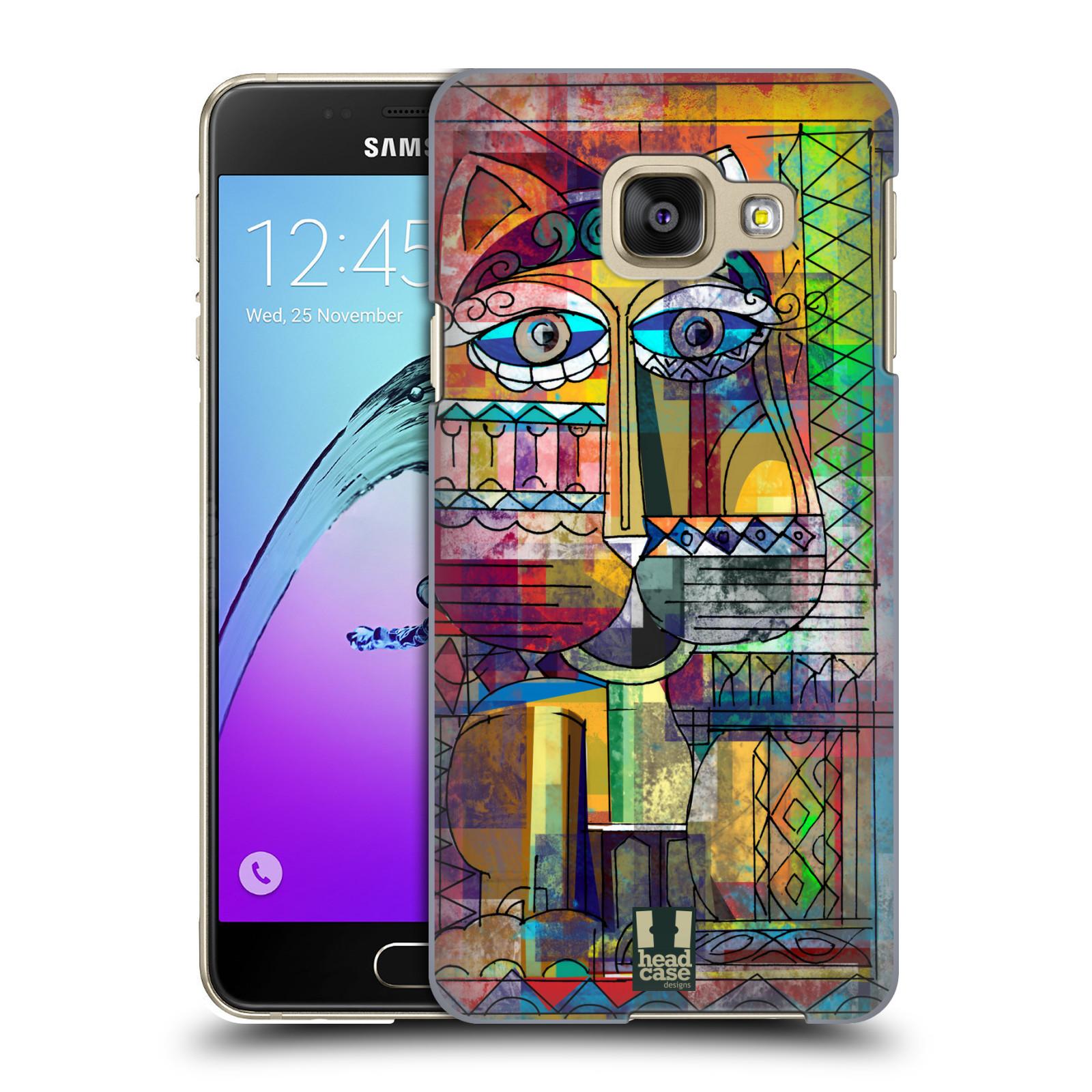 Plastové pouzdro na mobil Samsung Galaxy A3 (2016) HEAD CASE AZTEC KORAT