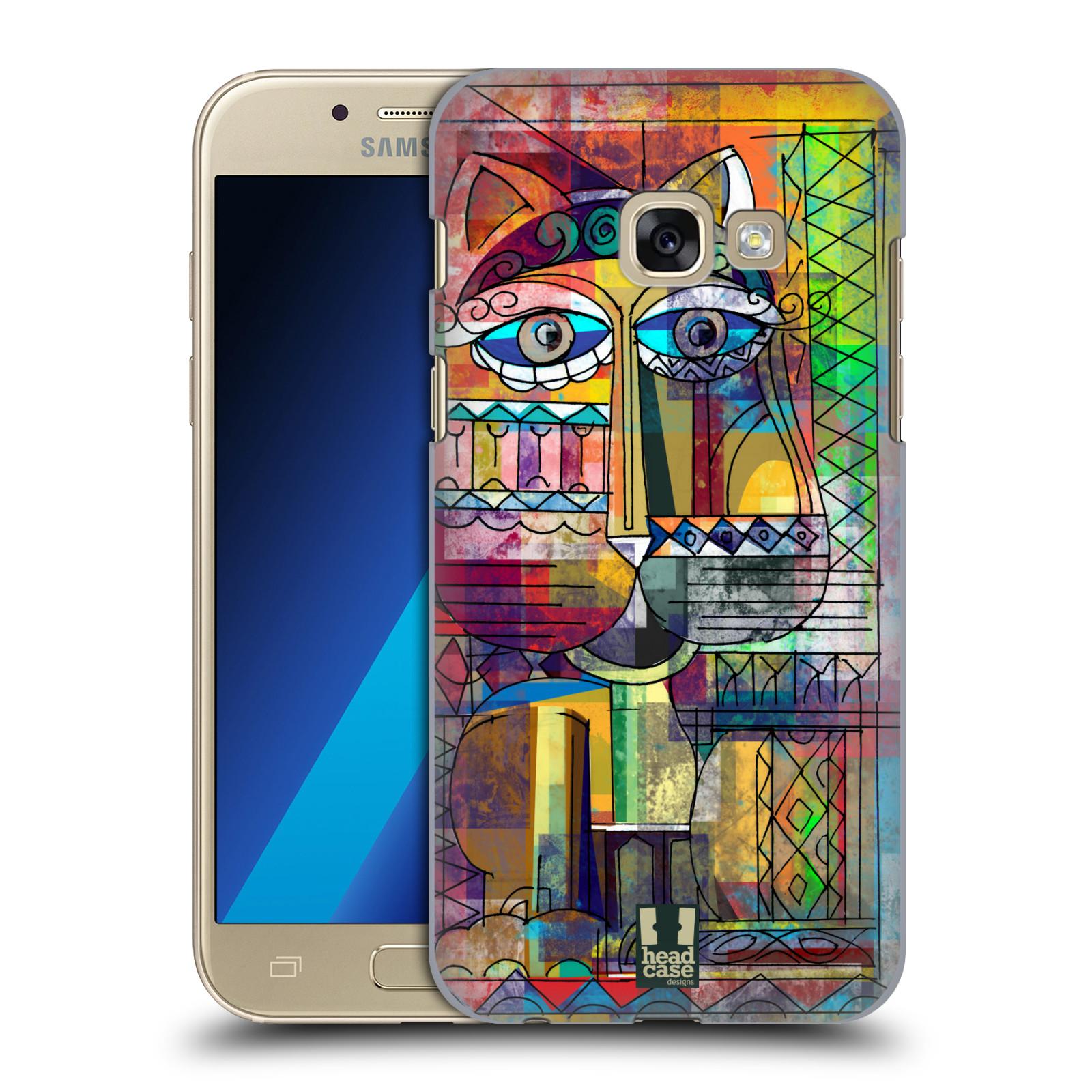 Plastové pouzdro na mobil Samsung Galaxy A3 (2017) HEAD CASE AZTEC KORAT