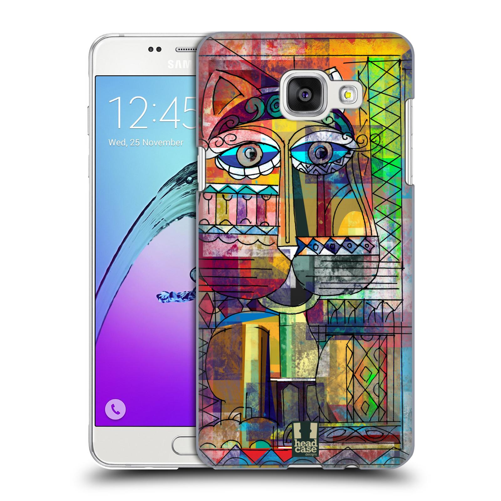 Plastové pouzdro na mobil Samsung Galaxy A5 (2016) HEAD CASE AZTEC KORAT