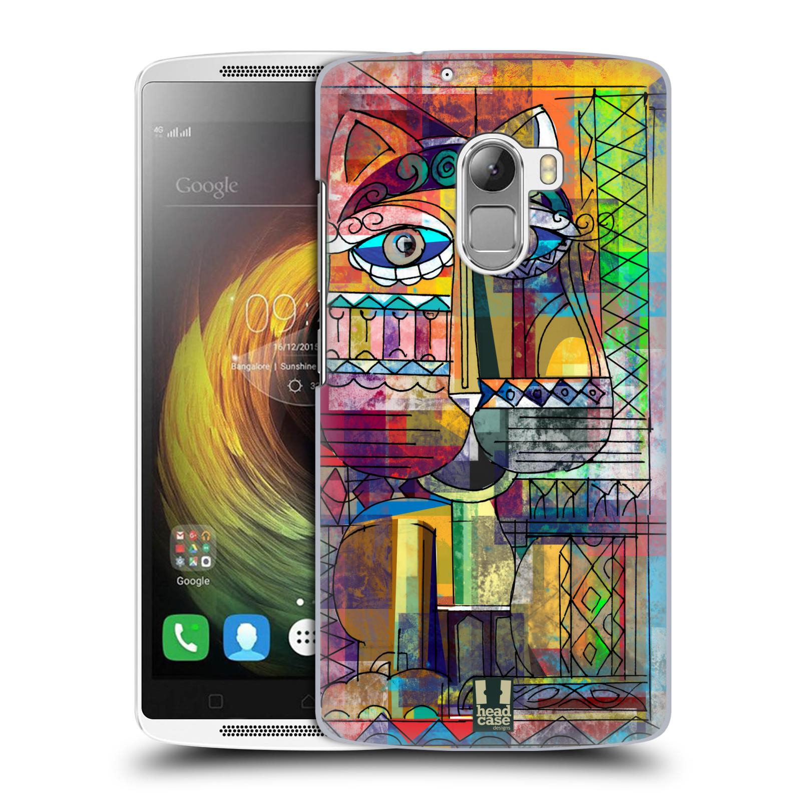 Plastové pouzdro na mobil Lenovo A7010 HEAD CASE AZTEC KORAT