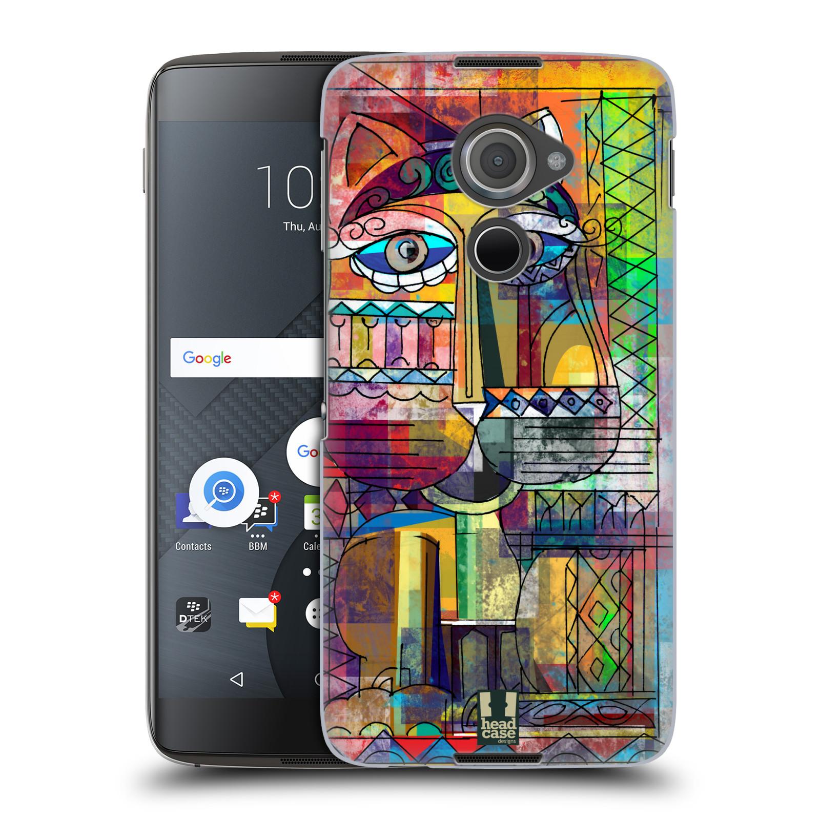 Plastové pouzdro na mobil Blackberry DTEK60 (Argon) - Head Case AZTEC KORAT