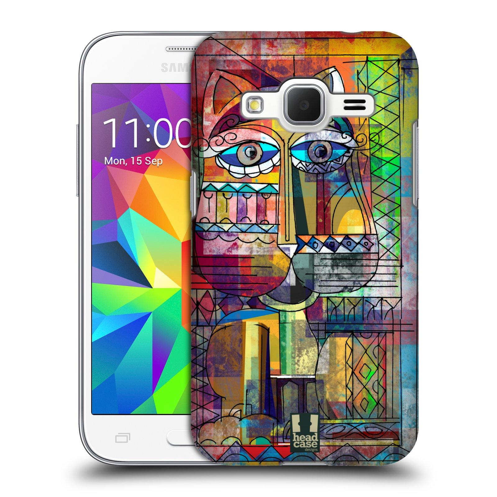 Plastové pouzdro na mobil Samsung Galaxy Core Prime LTE HEAD CASE AZTEC KORAT