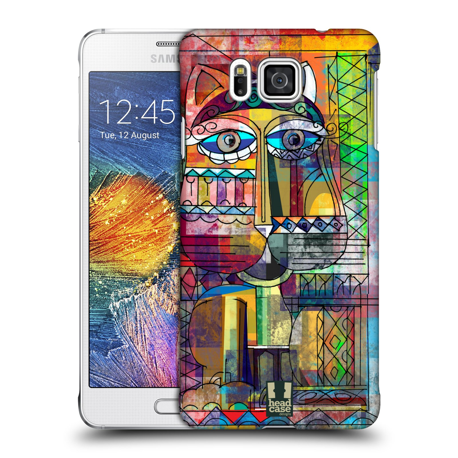 Plastové pouzdro na mobil Samsung Galaxy Alpha HEAD CASE AZTEC KORAT