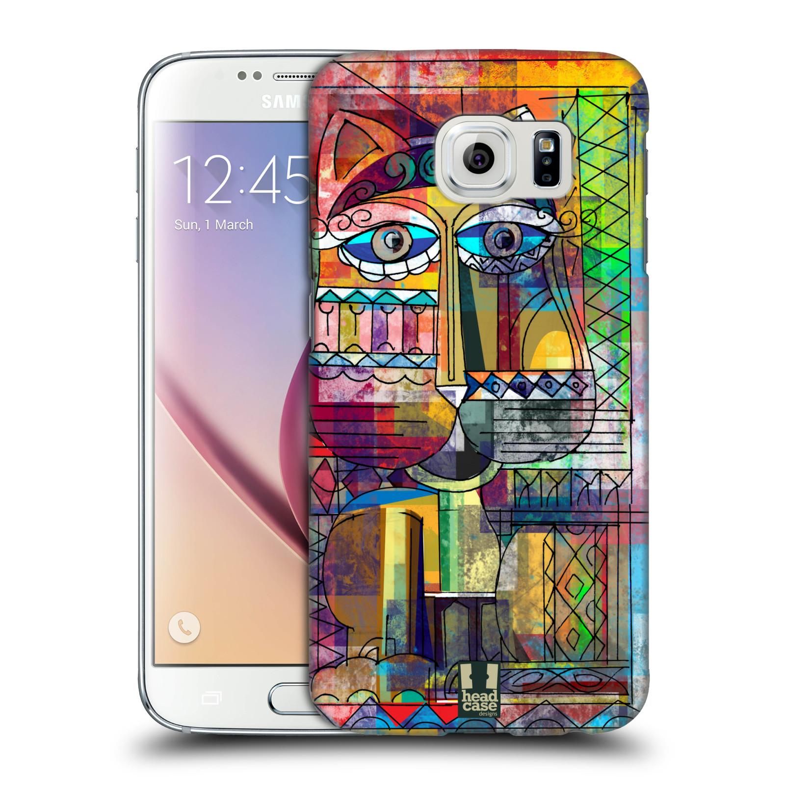 Plastové pouzdro na mobil Samsung Galaxy S6 HEAD CASE AZTEC KORAT