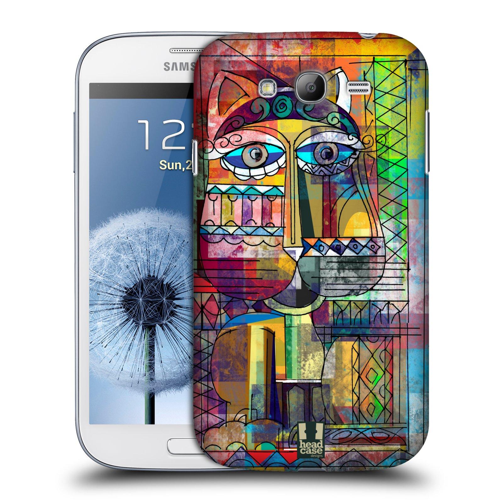 Plastové pouzdro na mobil Samsung Galaxy Grand Neo Plus HEAD CASE AZTEC KORAT (Kryt či obal na mobilní telefon Samsung Galaxy Grand Neo Plus GT-i9060i)