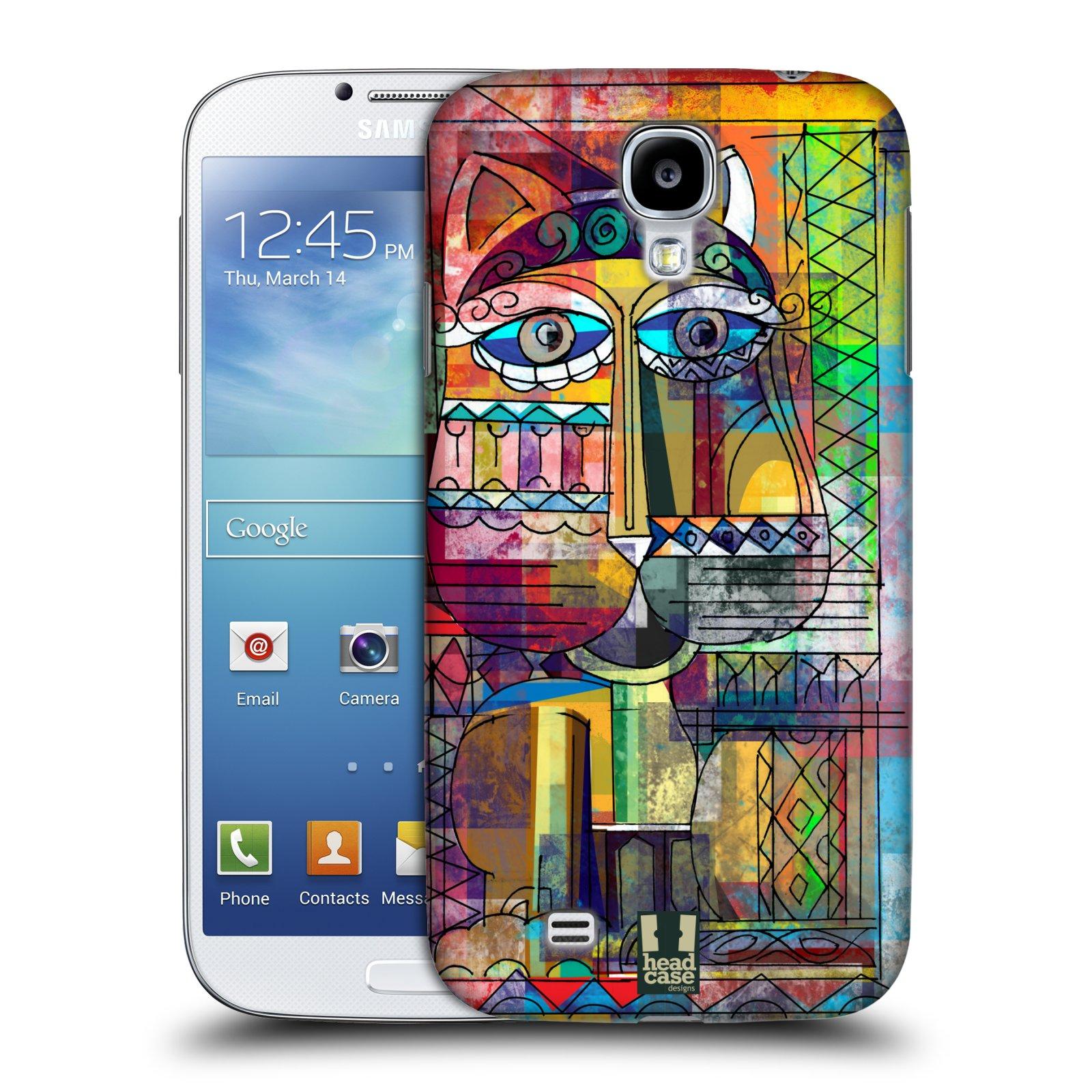 Plastové pouzdro na mobil Samsung Galaxy S4 HEAD CASE AZTEC KORAT (Kryt či obal na mobilní telefon Samsung Galaxy S4 GT-i9505 / i9500)