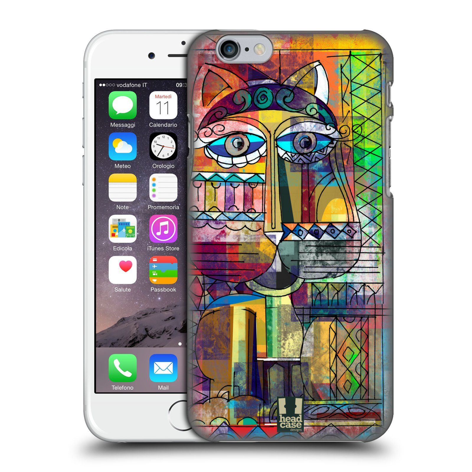 Plastové pouzdro na mobil Apple iPhone 6 a 6S HEAD CASE AZTEC KORAT