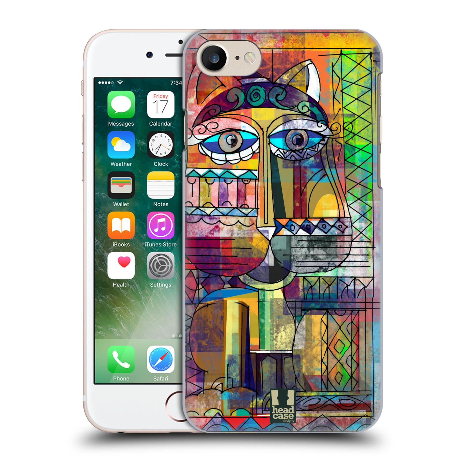 Plastové pouzdro na mobil Apple iPhone 7 HEAD CASE AZTEC KORAT
