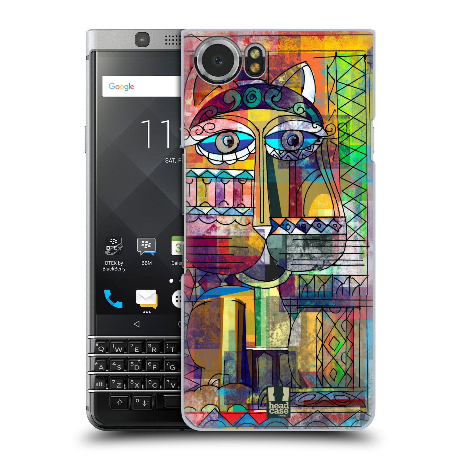 Plastové pouzdro na mobil BlackBerry KEYone - Head Case - AZTEC KORAT