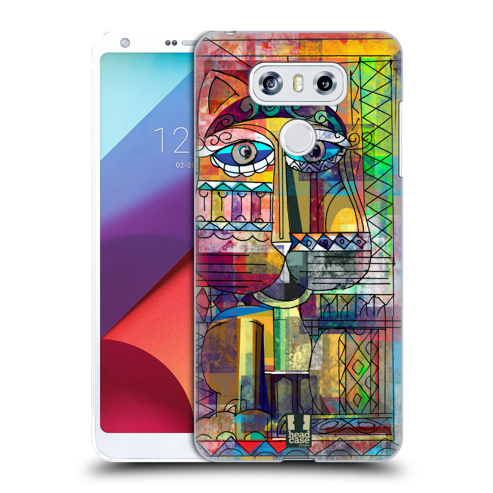 Plastové pouzdro na mobil LG G6 - Head Case AZTEC KORAT